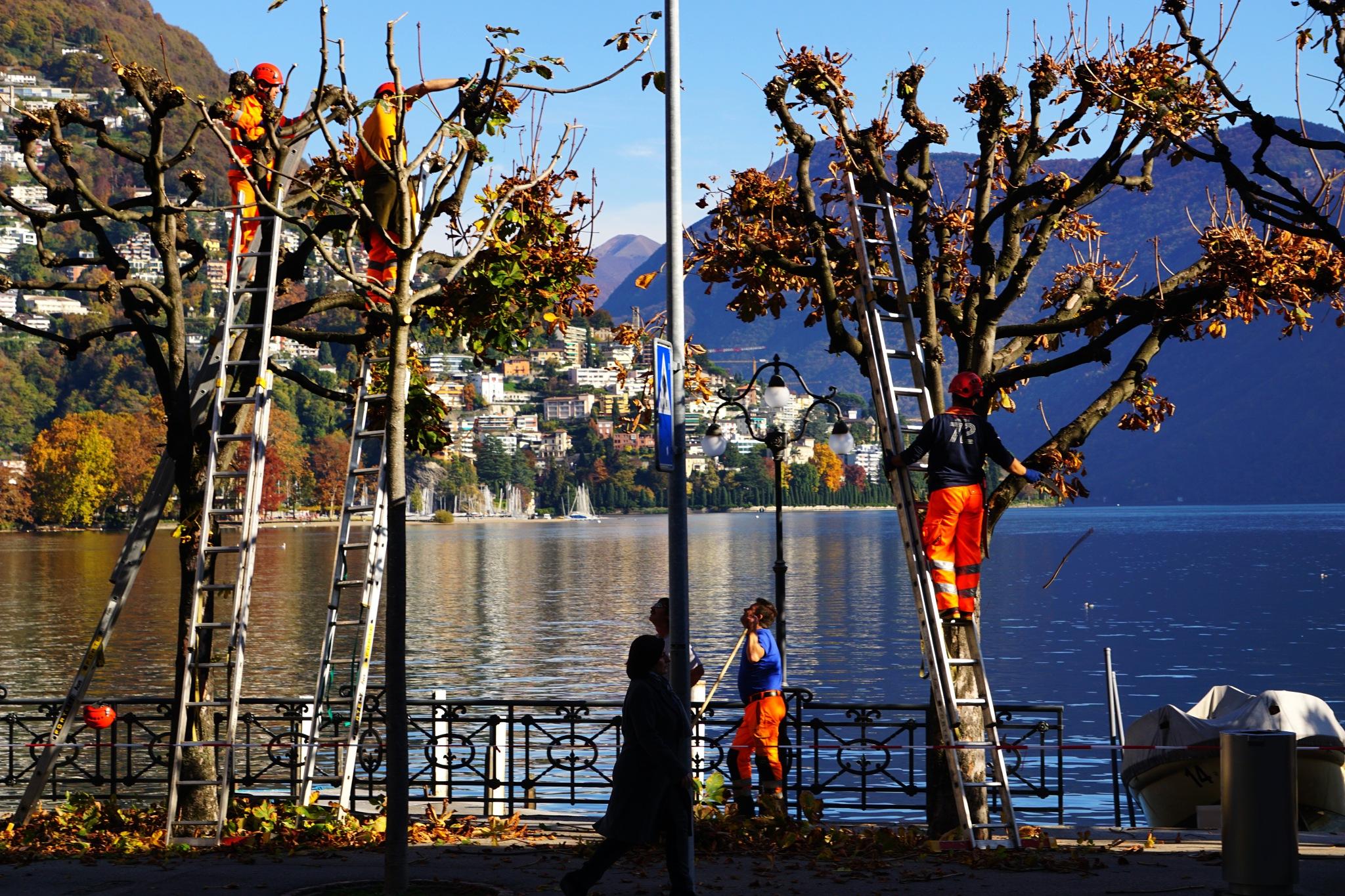 Travel photo. Лугано Швейцария. by Murat Bukaev