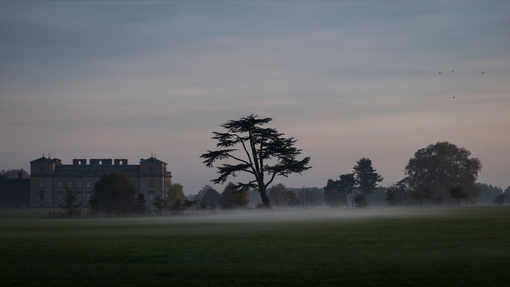 Mist forming at Croome by kevPugh