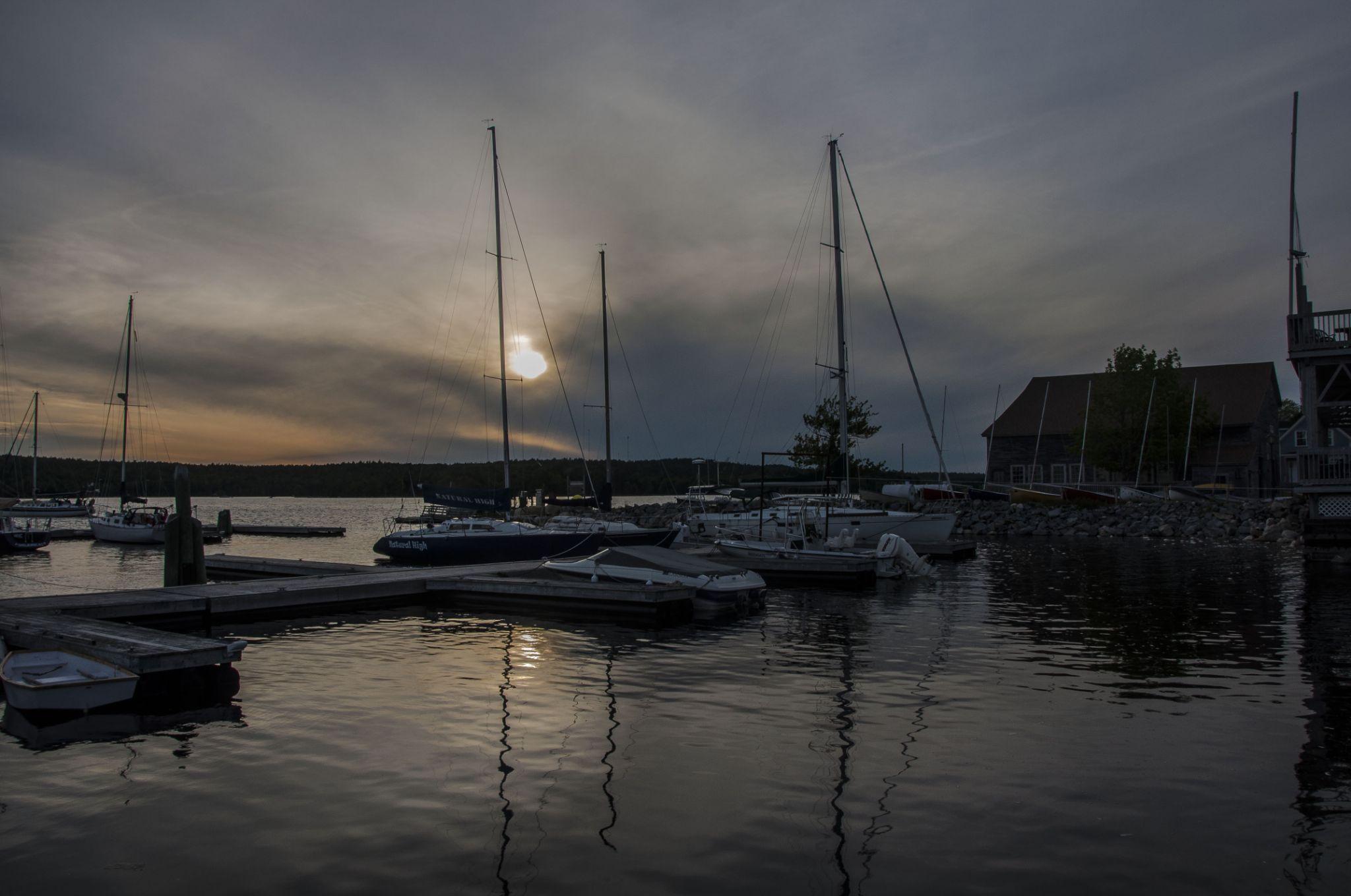 Shelbburne NS yacht club by paulhamilton969952