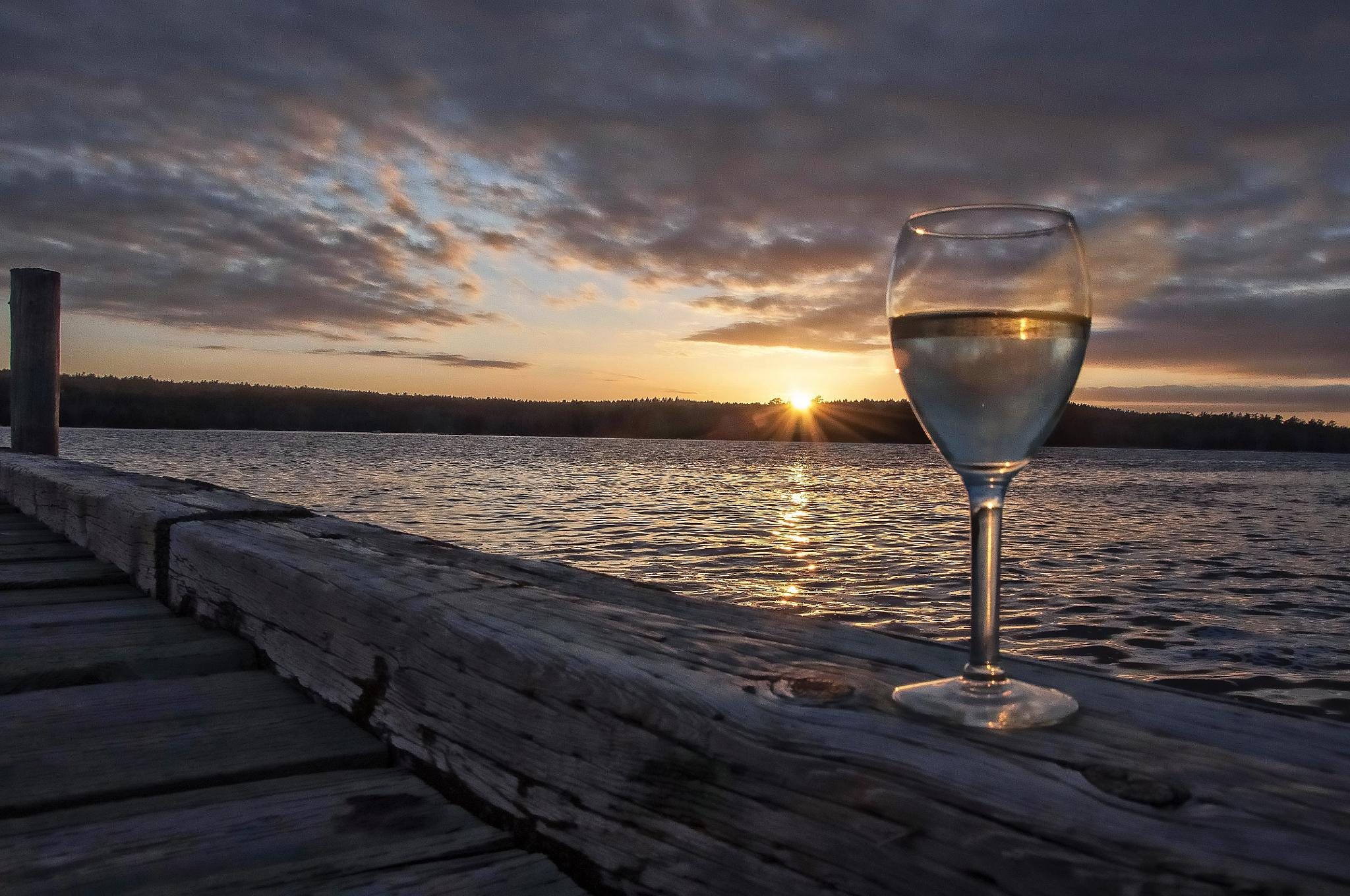 Sunset wine by paulhamilton969952