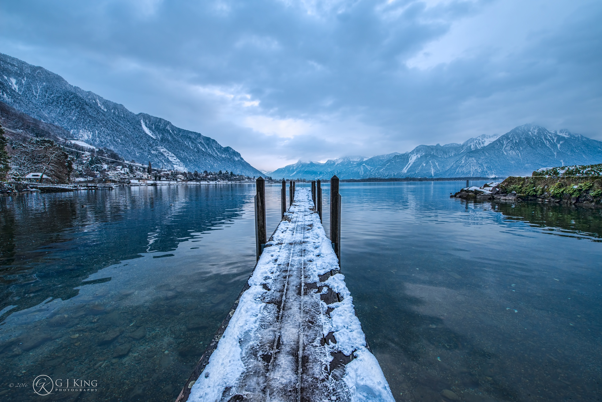 Montreux Jetty by gjkingphotography