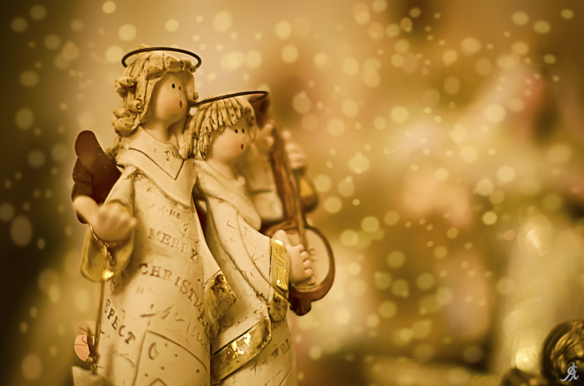 Christmas musicians by Alessandro Giorgi Art Photography