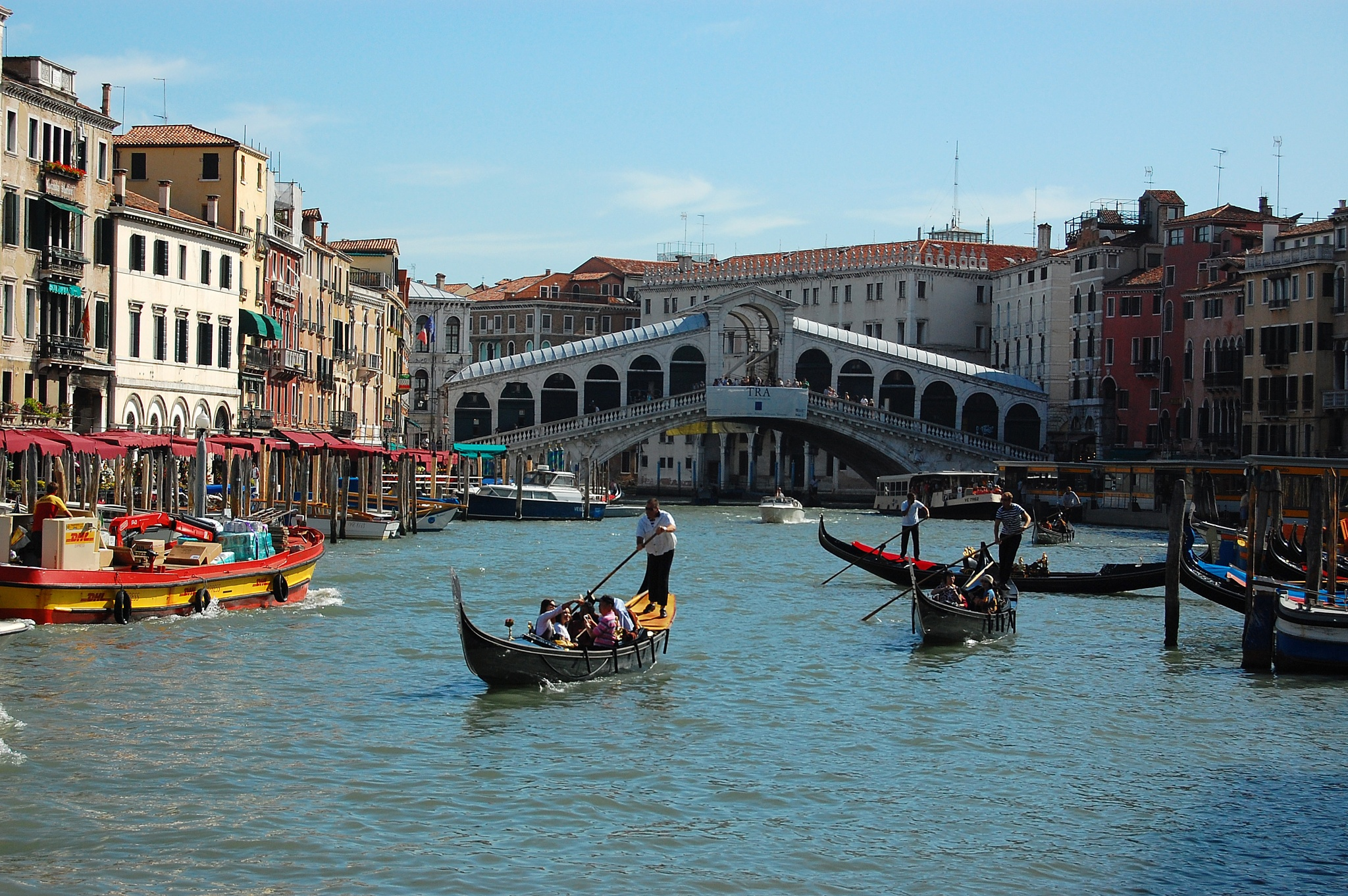 The Grande Canal, Venice by Pete Hussey