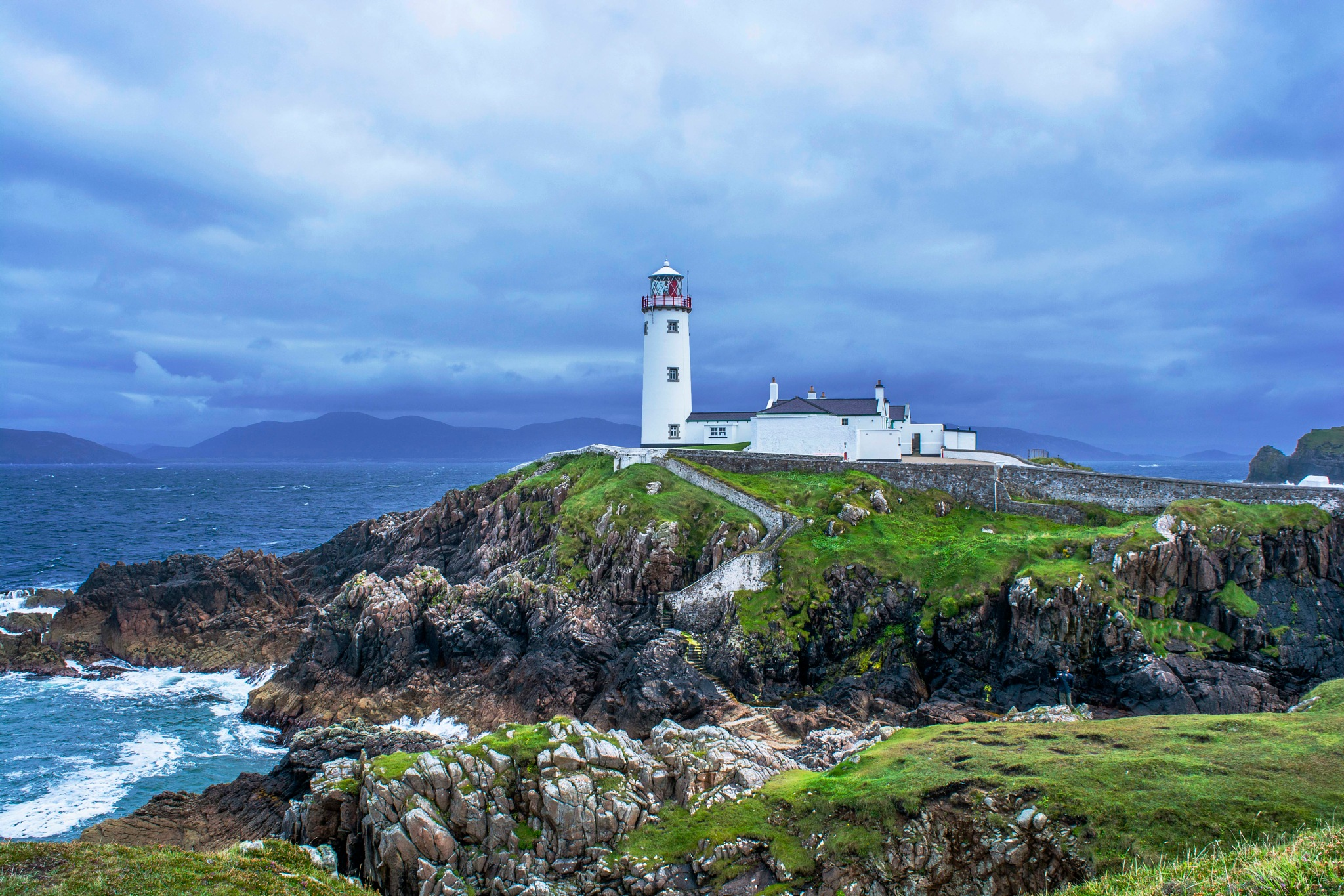 Fanad Head Lighthouse by Malcolm Hough