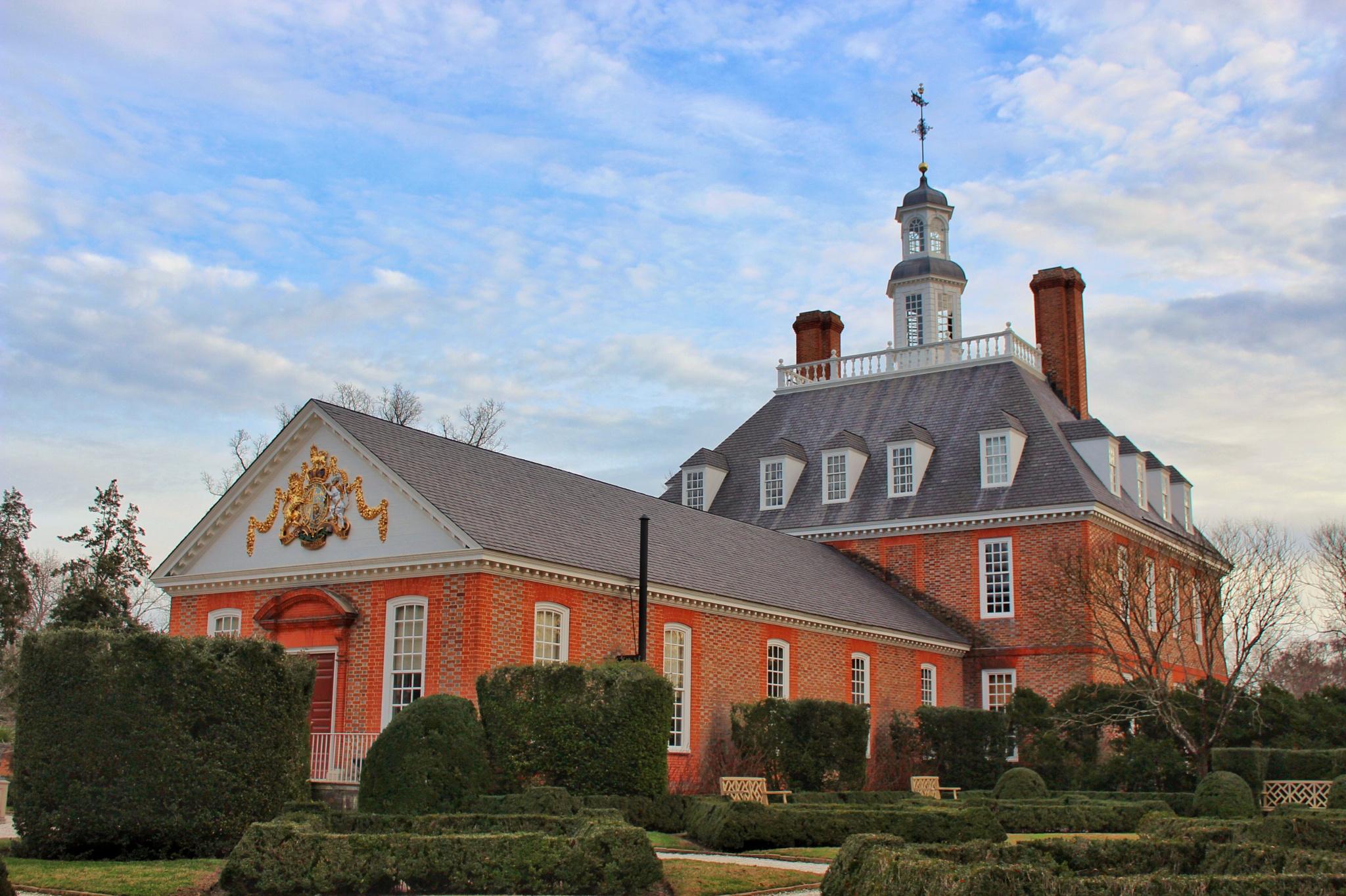 Governors masion, Williamsburg VA by Gerardo Barillas
