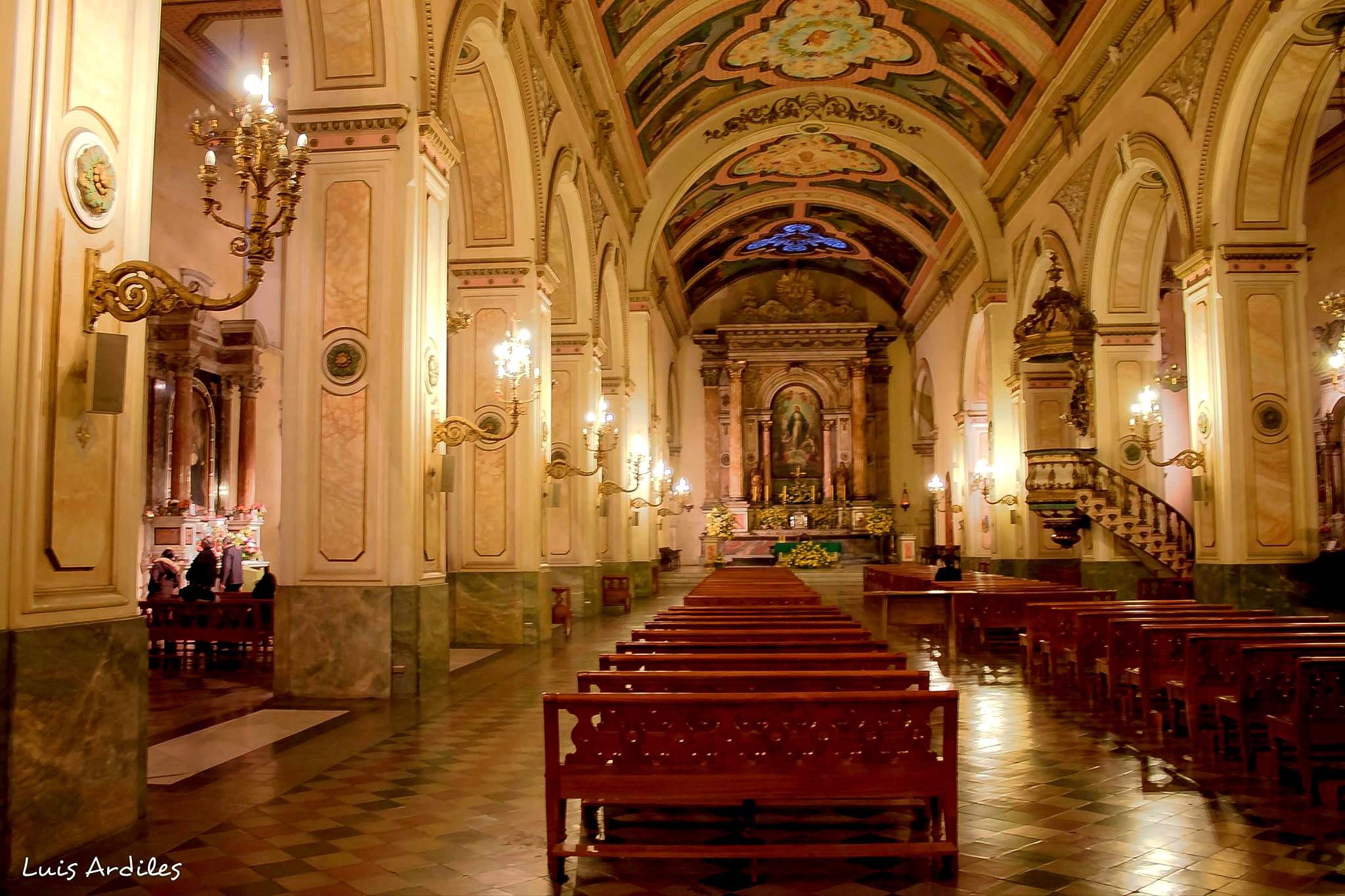iglesia de la mercedes , santiago centro ,, chile  by Luis Ardiles Ibarra