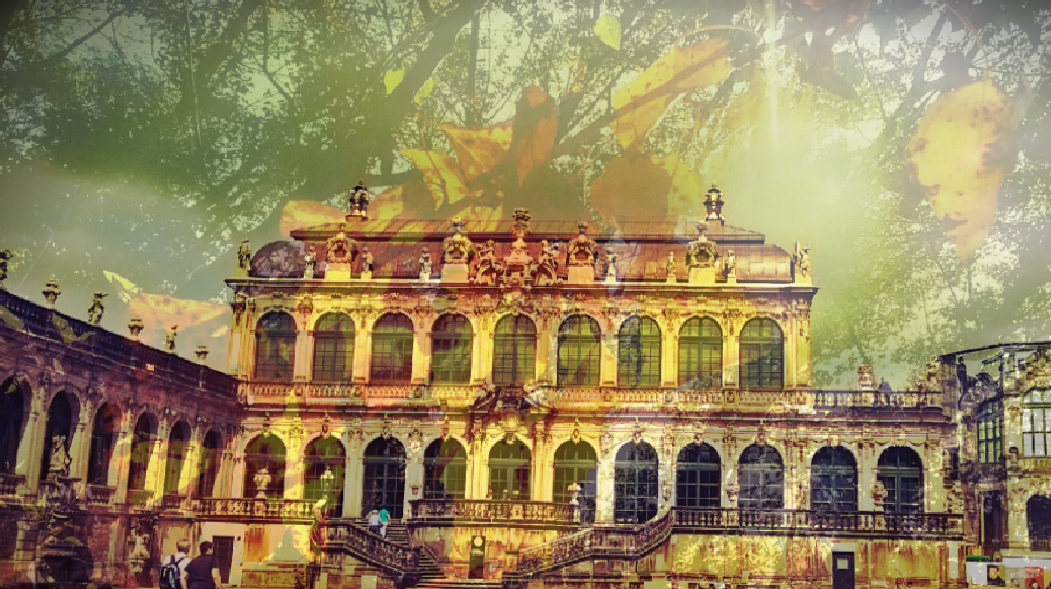 Autumn at Zwinger castle by Autumn Leaves