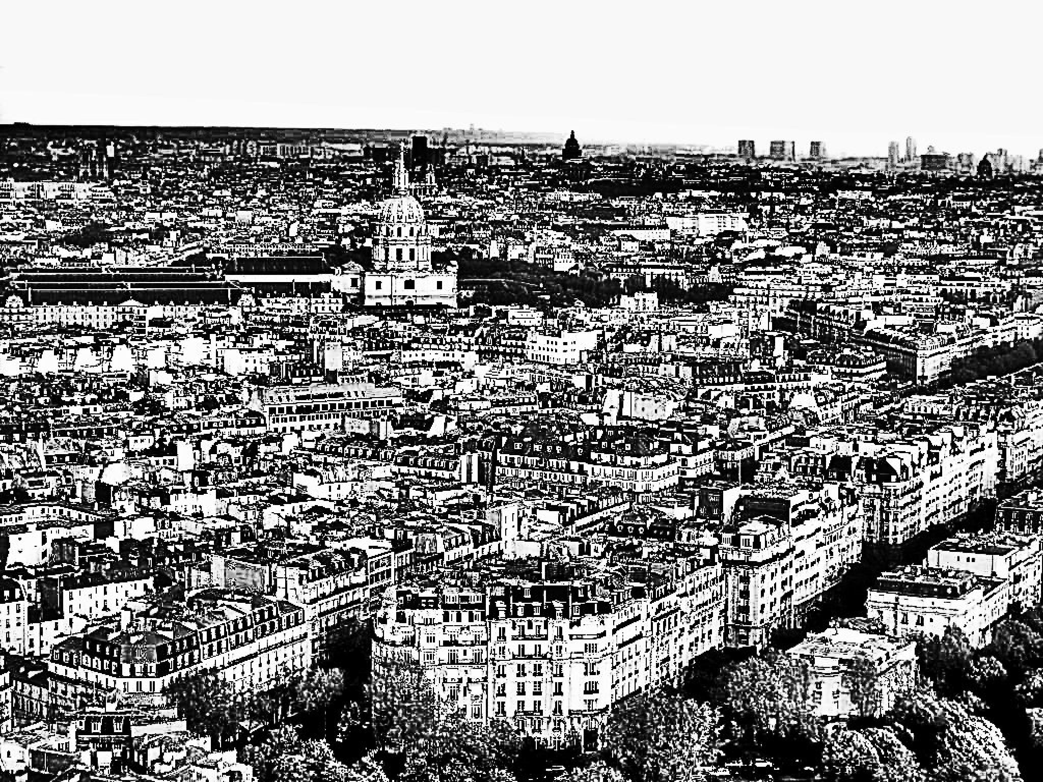 Paris by Autumn Leaves