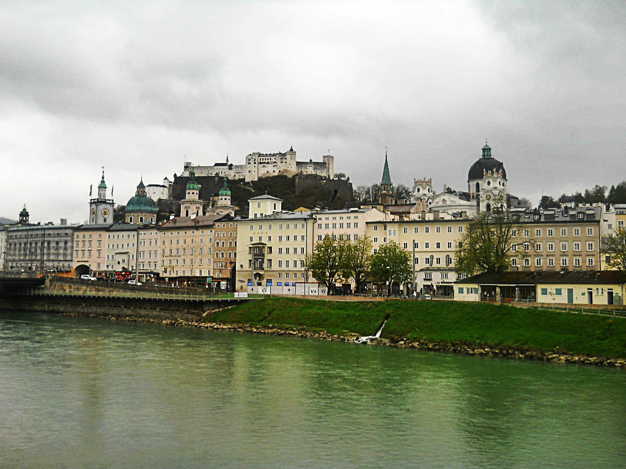 Salzburg by Autumn Leaves