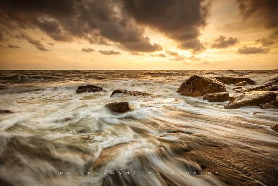 Golden Sunset by Daniel Dawn 風傳影像