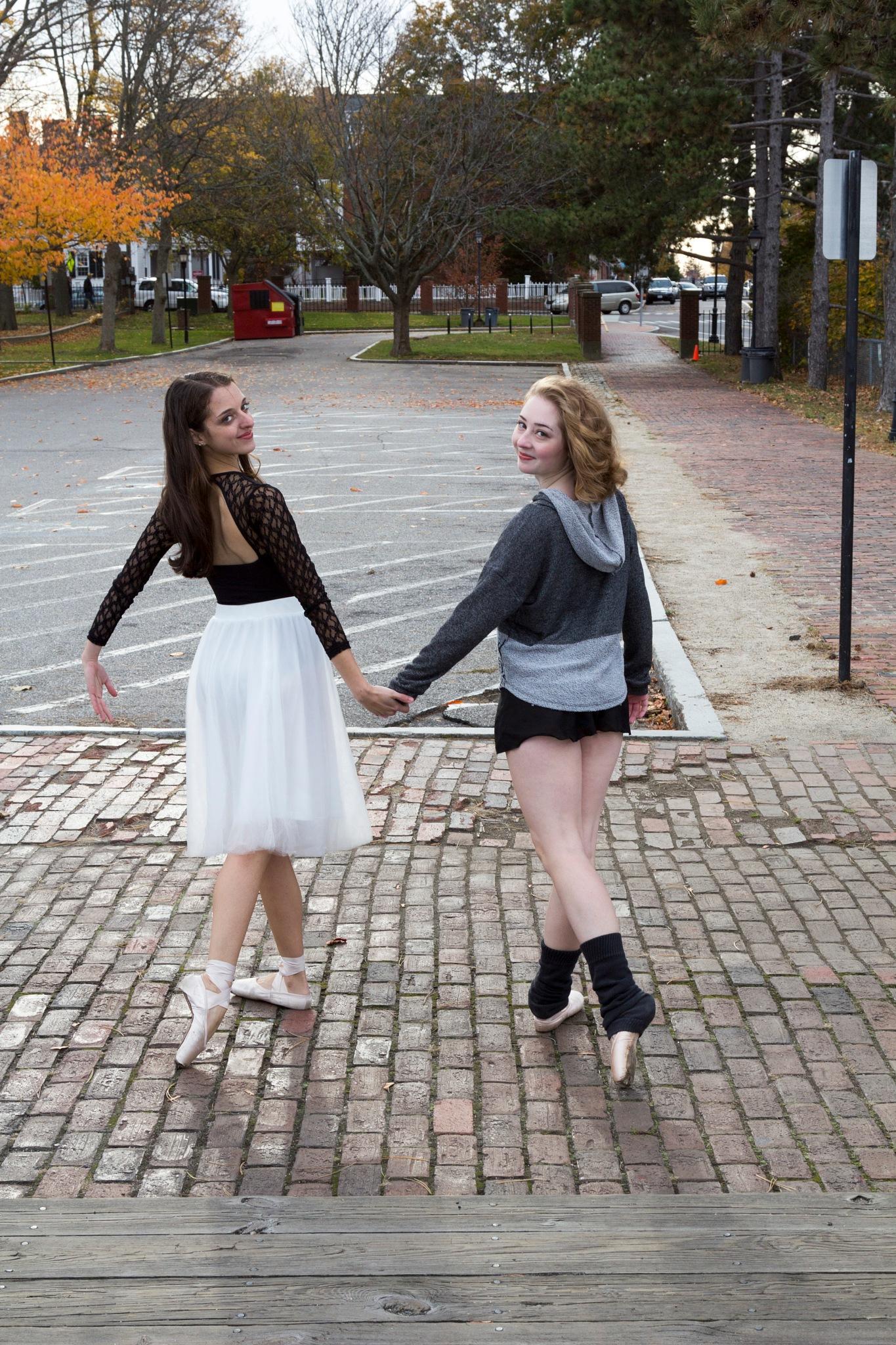 Allysa & Emma , Autumn Shoot by Daniel Buchbinder