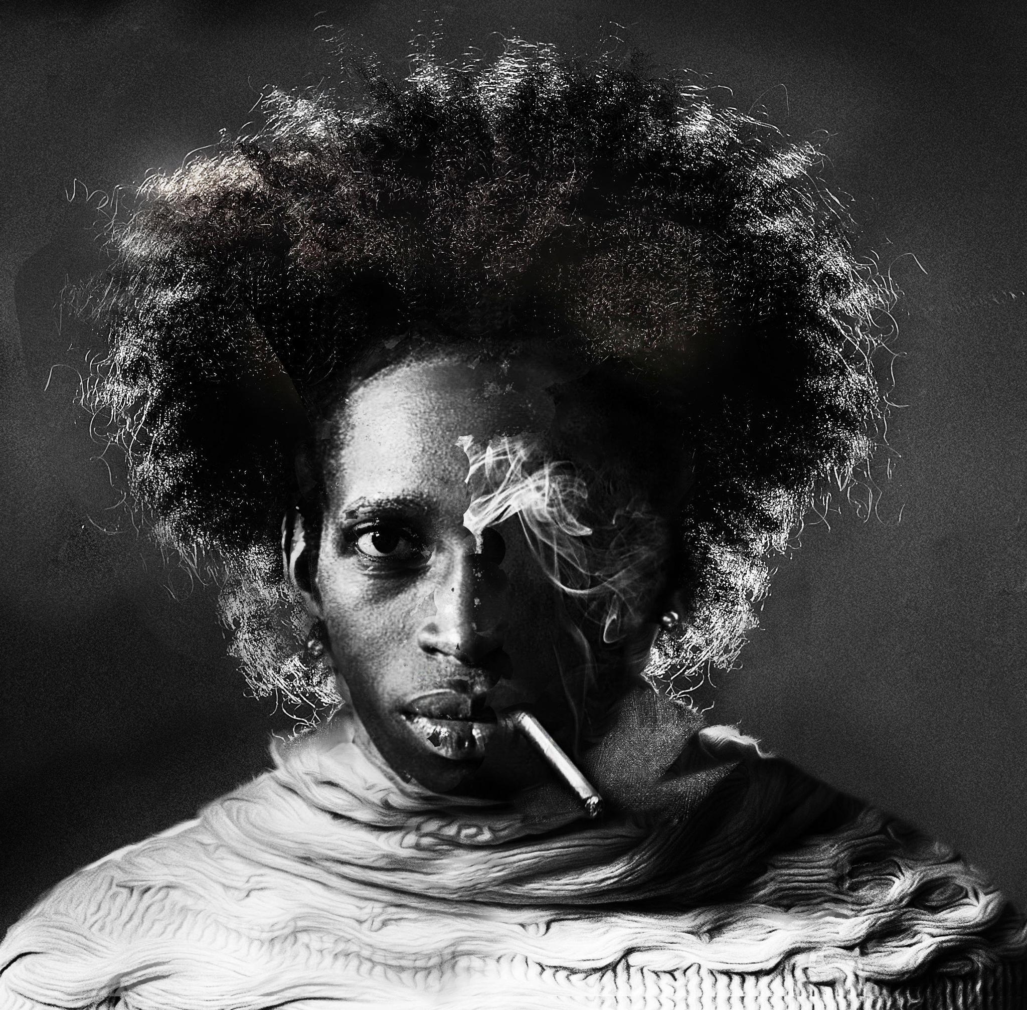 smoking by Nicolaas Porter
