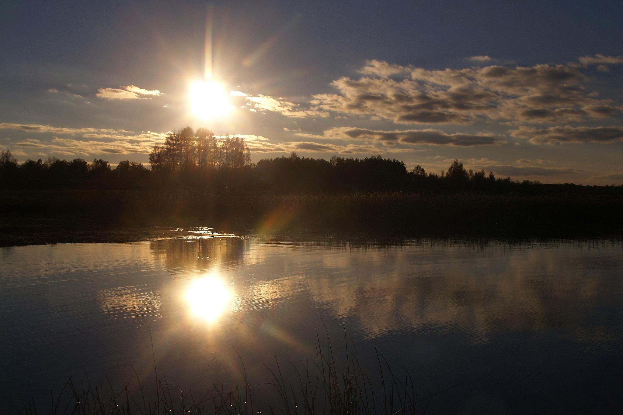 Sunset by Guntars Krūmiņš