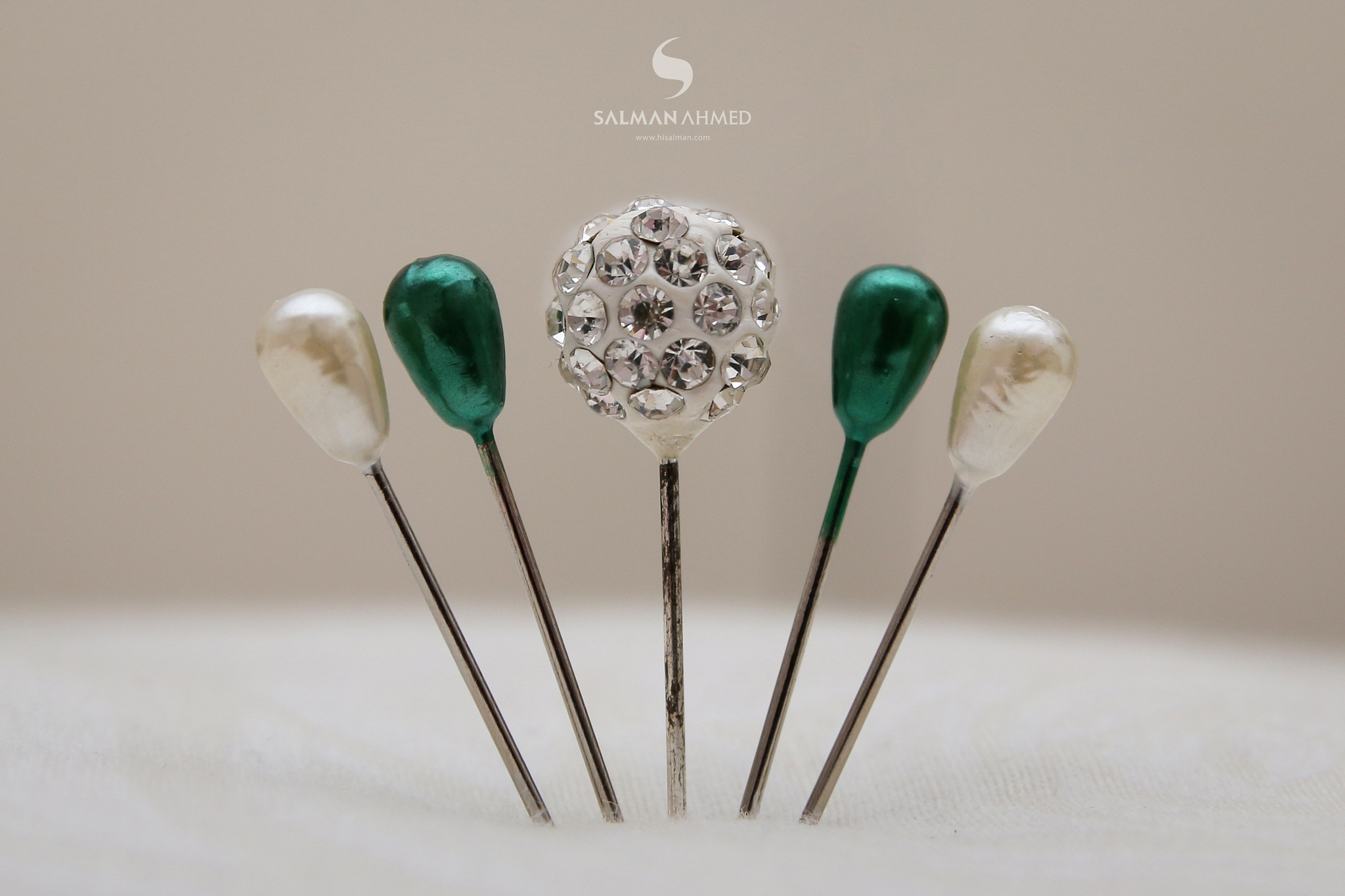 Hijab Pins by SALMAN AHMED