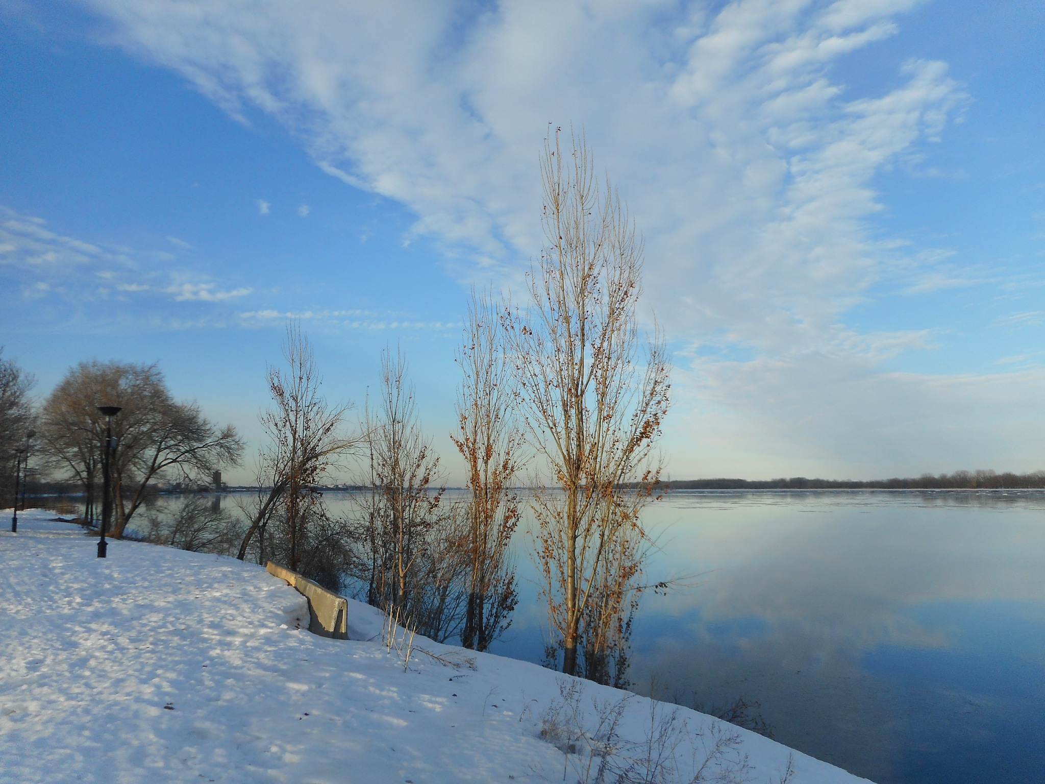 winter day by Nicole Bergeron