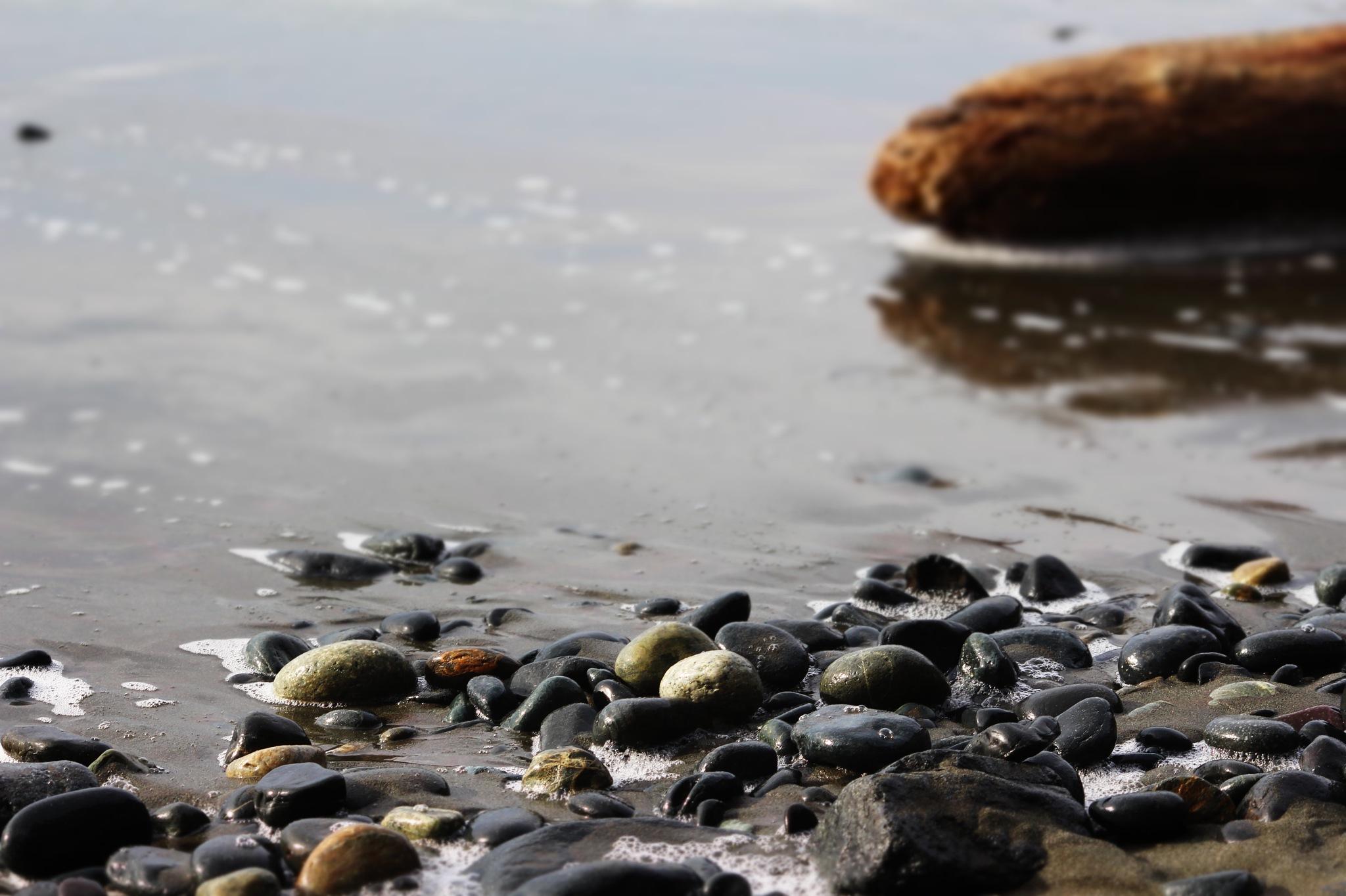 Rocks on the beach by Soblip