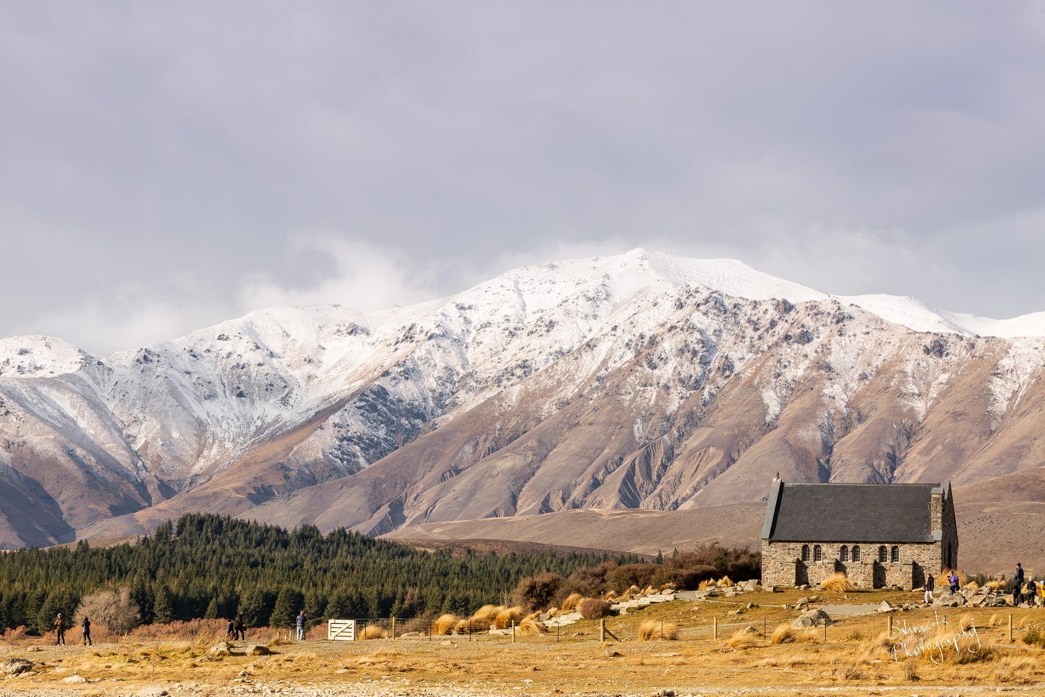 Good Sheperd Church Lake Tekapo by Stuart Jamieson