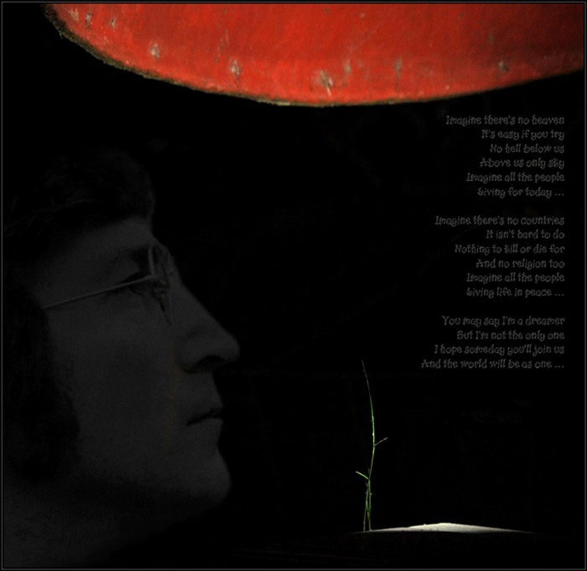 John Lennon ... Imagine ... 75 by mickmouse