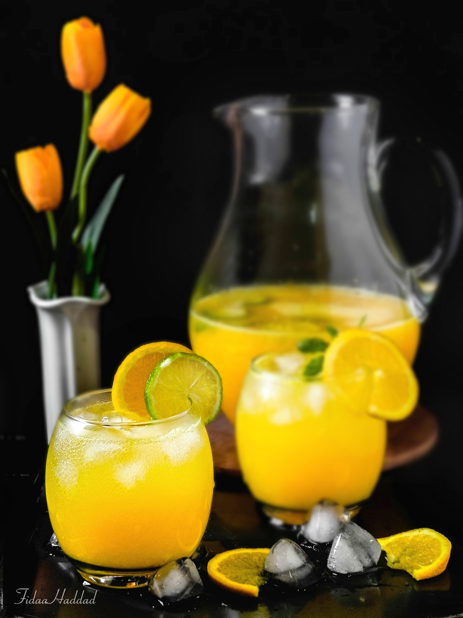 Photo in Food #morning #stil life #food photography #food styling #oranges #drinks #juice #fresh #cold #health