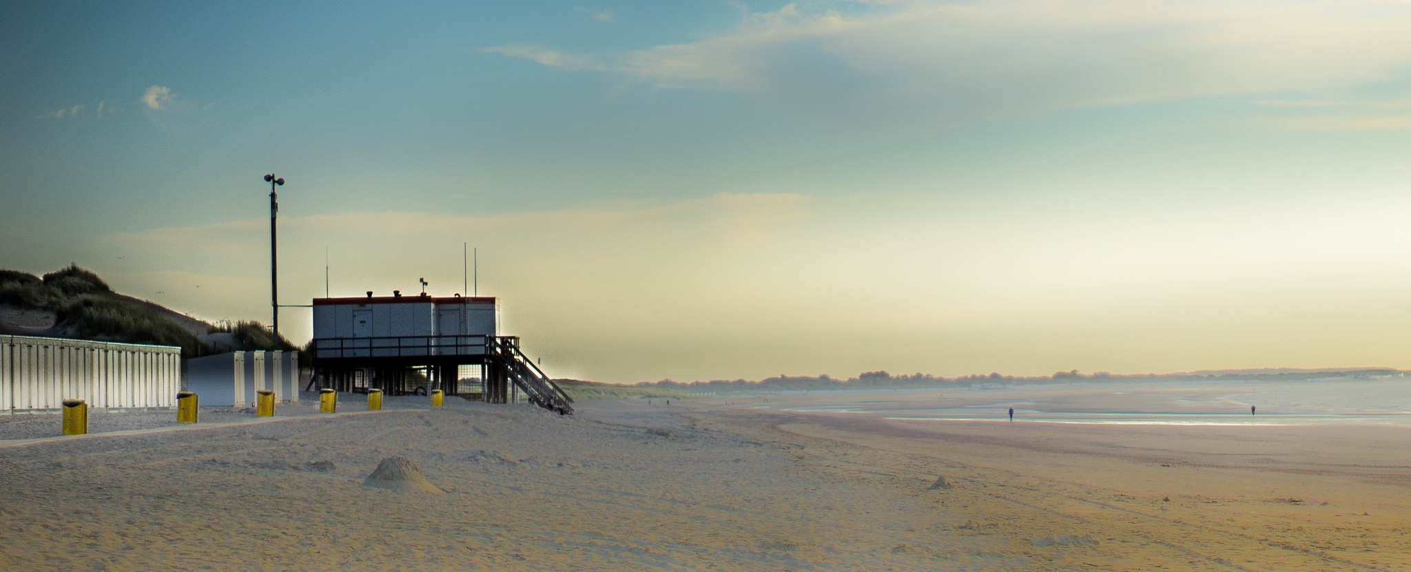 Holland: north sea and beach at Ouddorp by Roy Maas