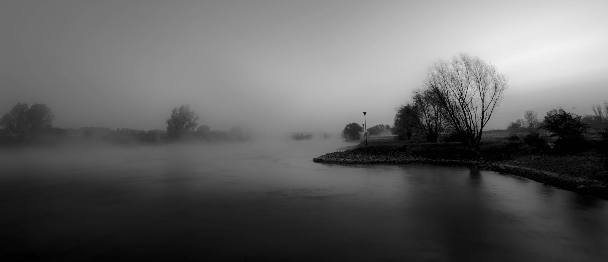 Holland: misty morning by Roy Maas