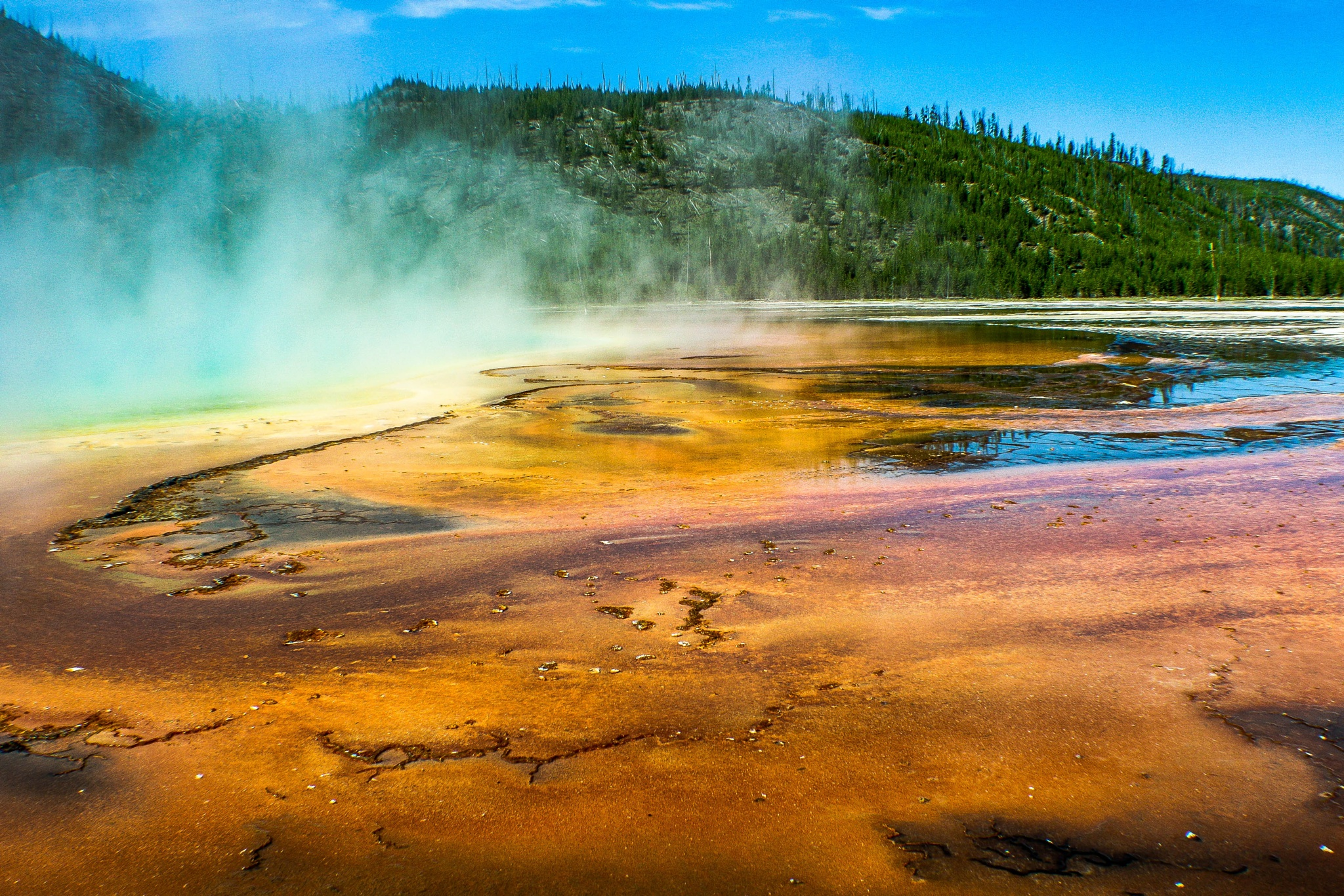 Grand Prismatic Spring by Peter Cavaliere