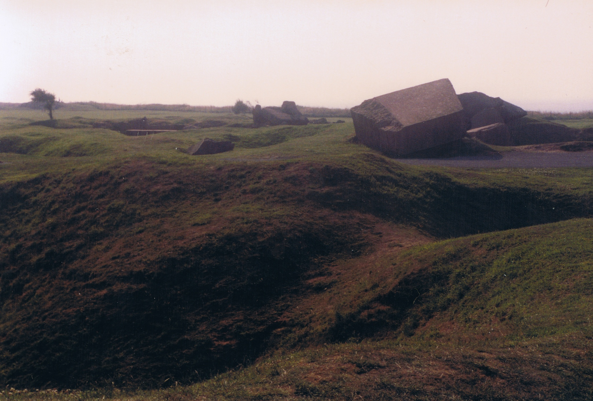 Battlefield of Pointe du Hoc,  Normandy by Milore