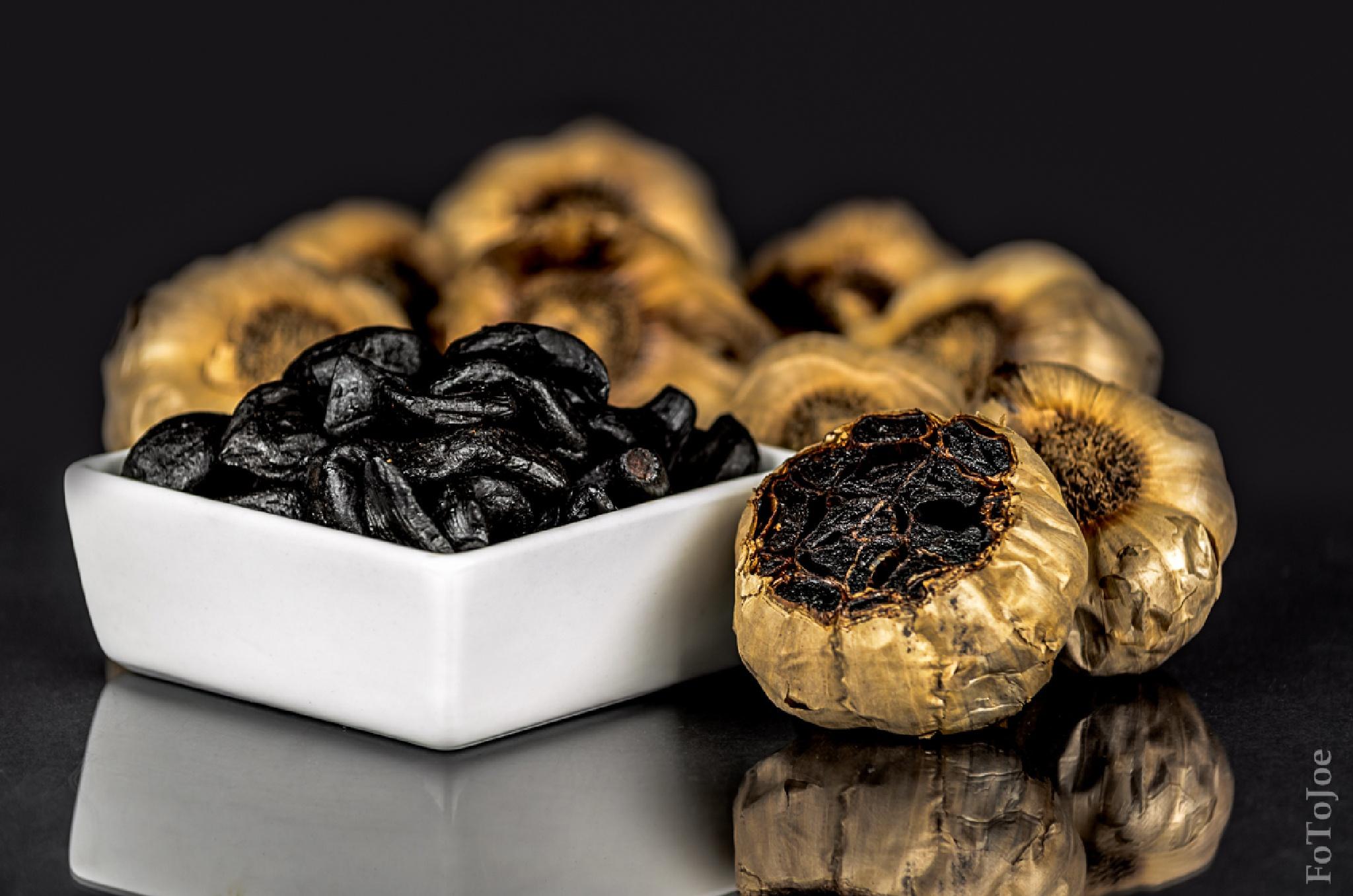Black garlic by TJoe