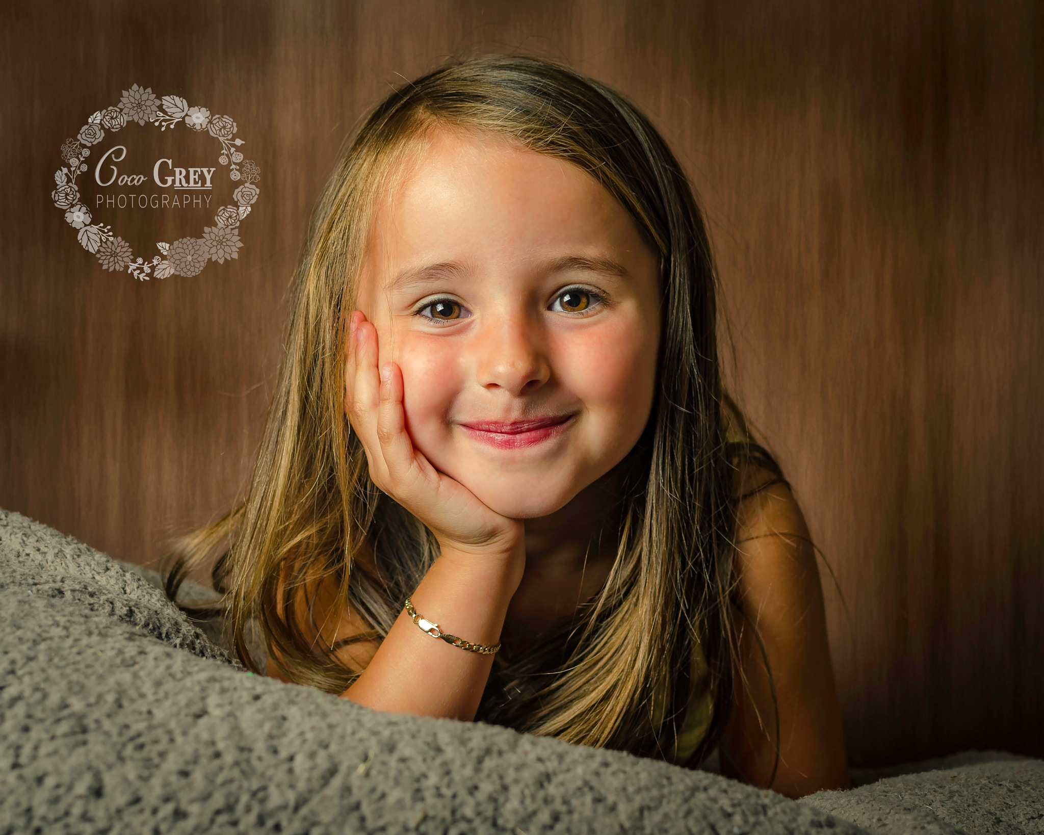 Brown eyed Demi by Coco Grey Photography