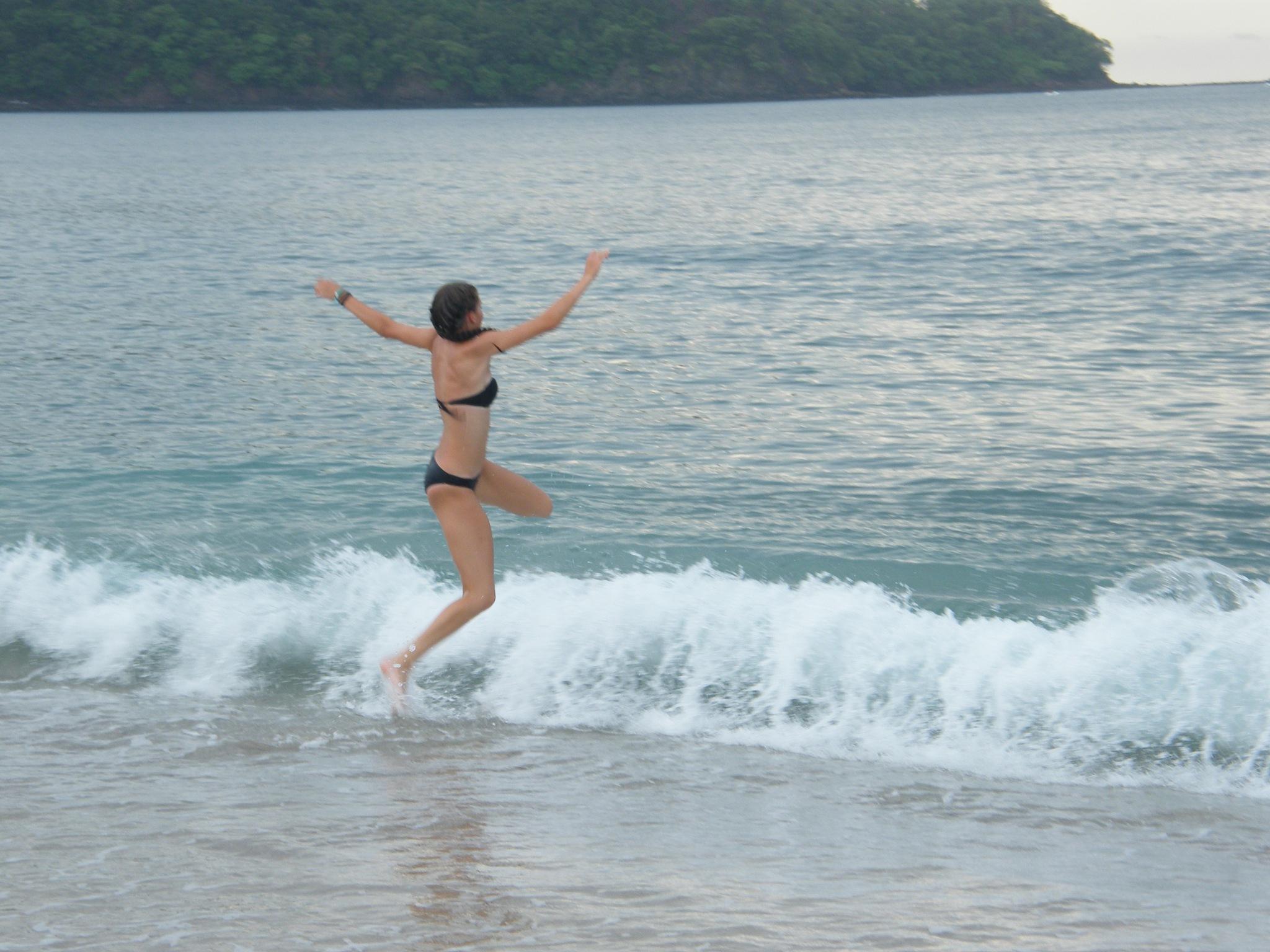 jumpin waves by Joycelyn Scott
