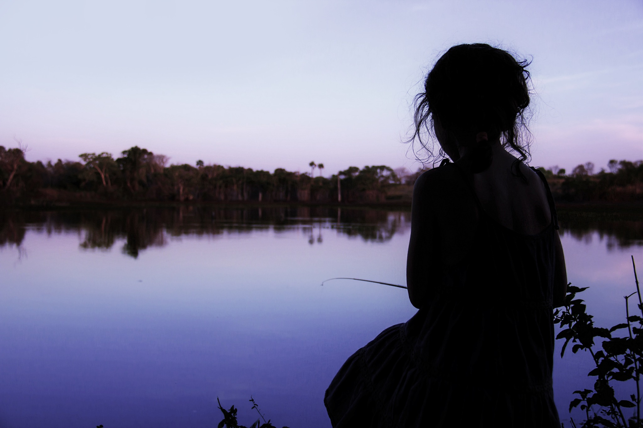Just fishing by Sabrina Gomes