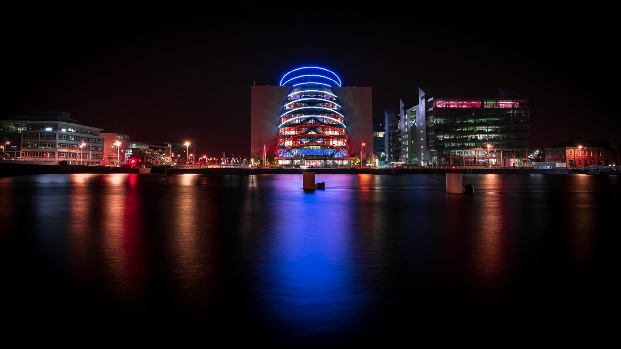 Supporting France - Dublin, Ireland by Giuseppe Milo