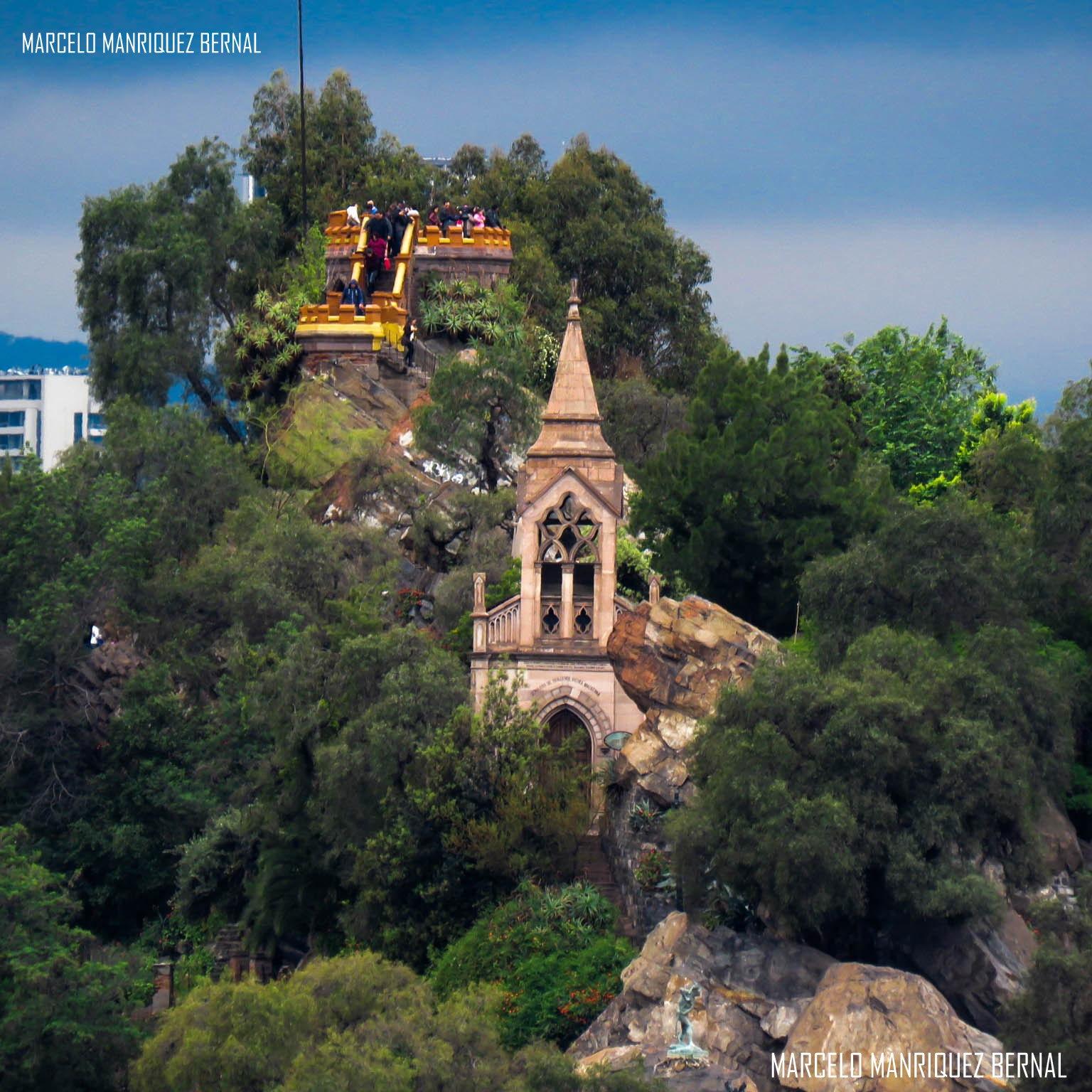 Cerro Santa Lucia  santiago de Chile by Marcelo Manriquez Bernal