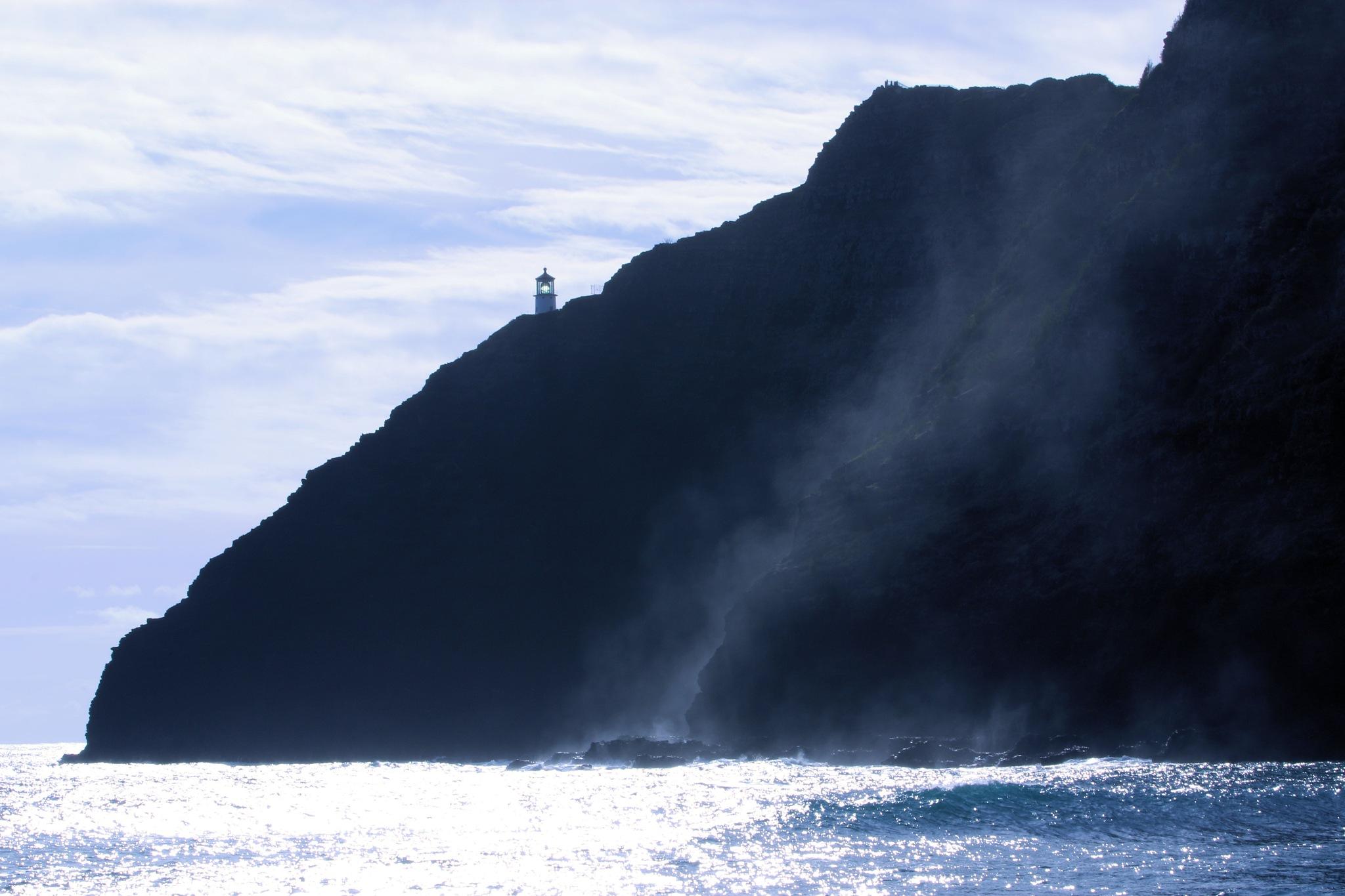 Lighthouse ~ Makapu'u Point by Michael McCasland