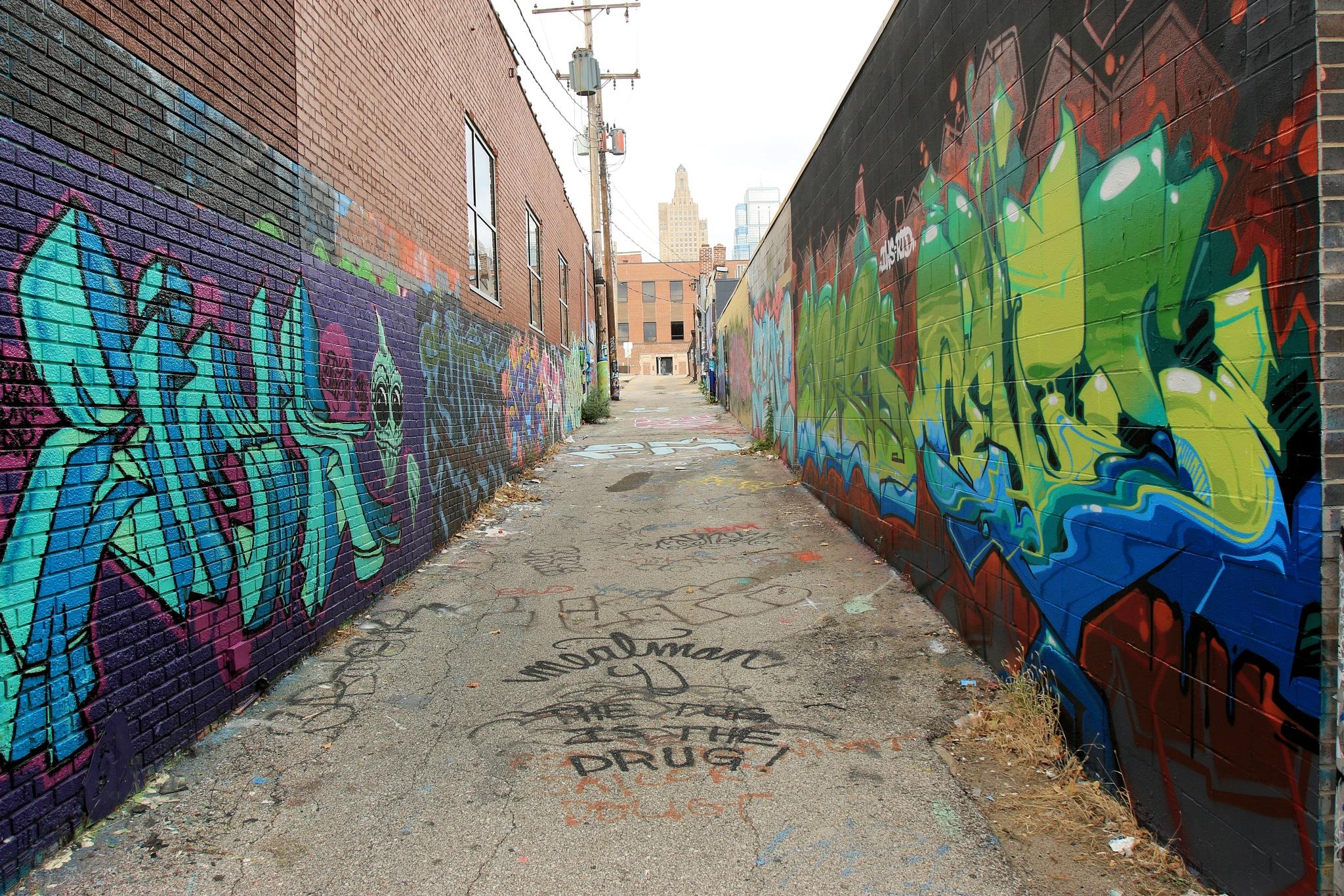 Graffiti Series ~ Kansas City 2  by Michael McCasland
