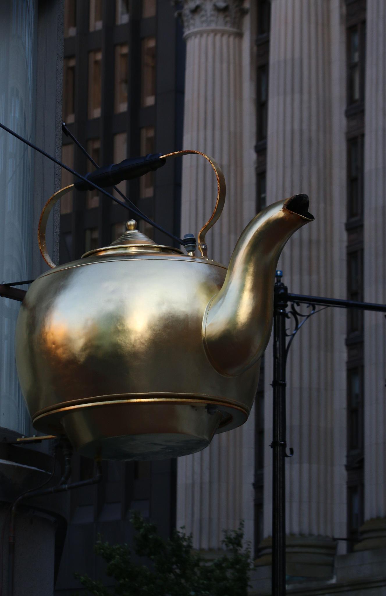 Tea Time by Michael McCasland