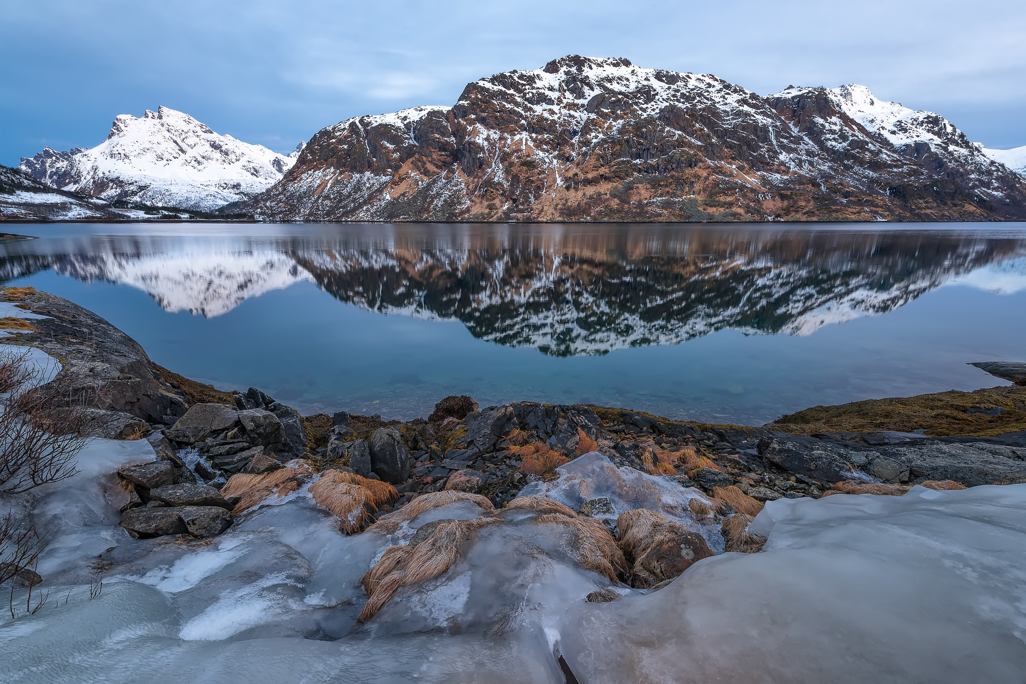 A Morning in Lofoten by thefella