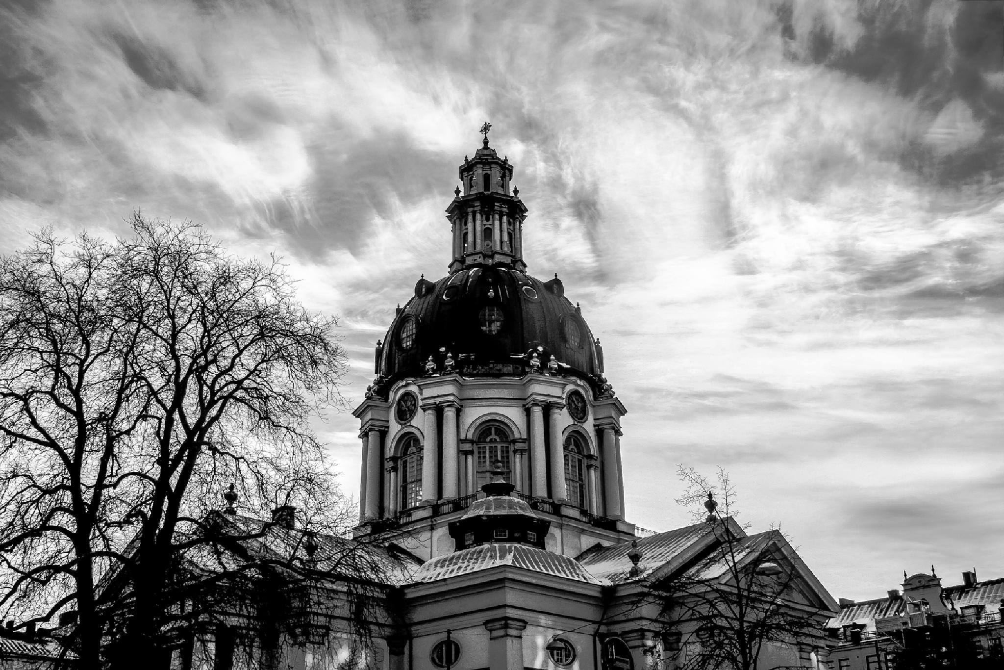Gustav Vasas Kyrka Stockholm by Alfred Pettersson