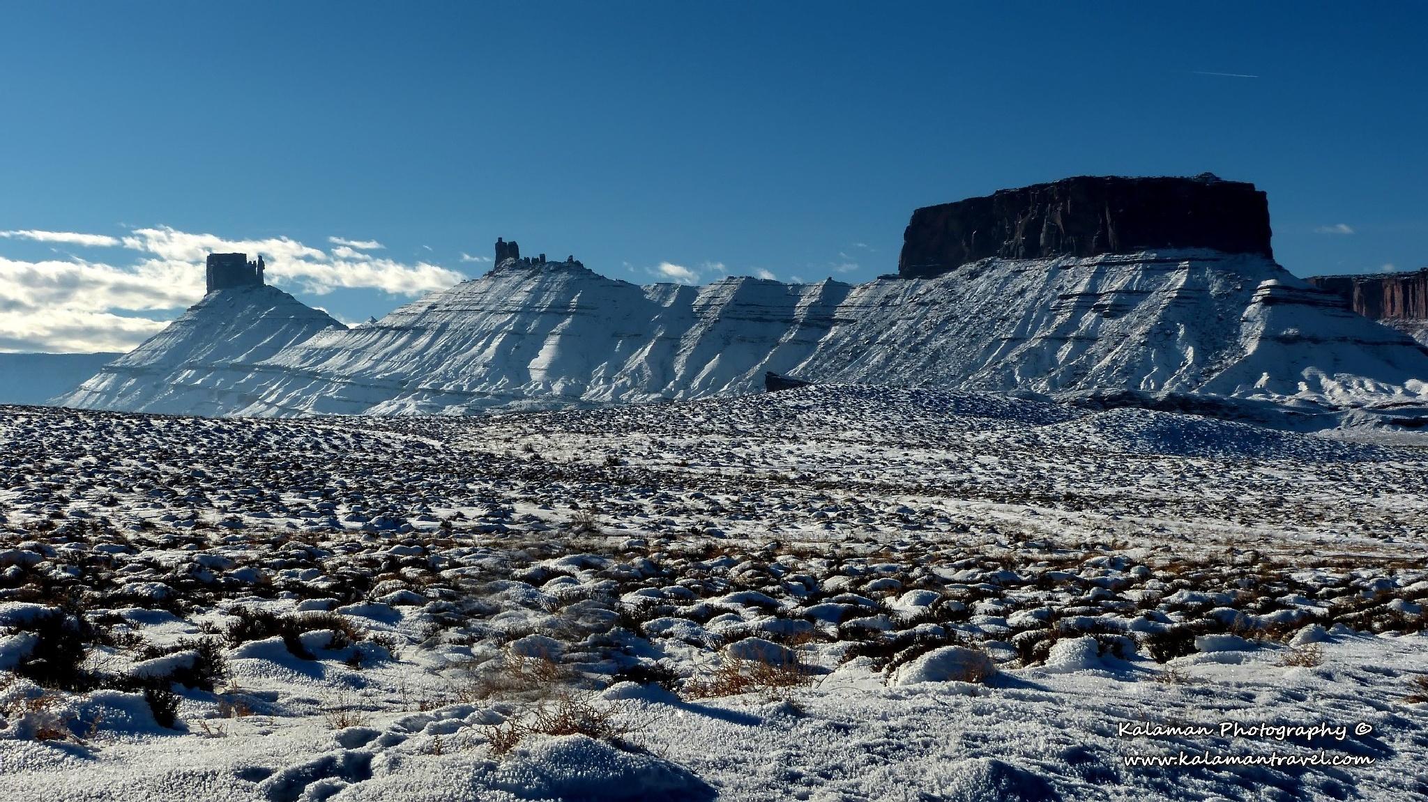 Winter in Utah by Kalaman Photography