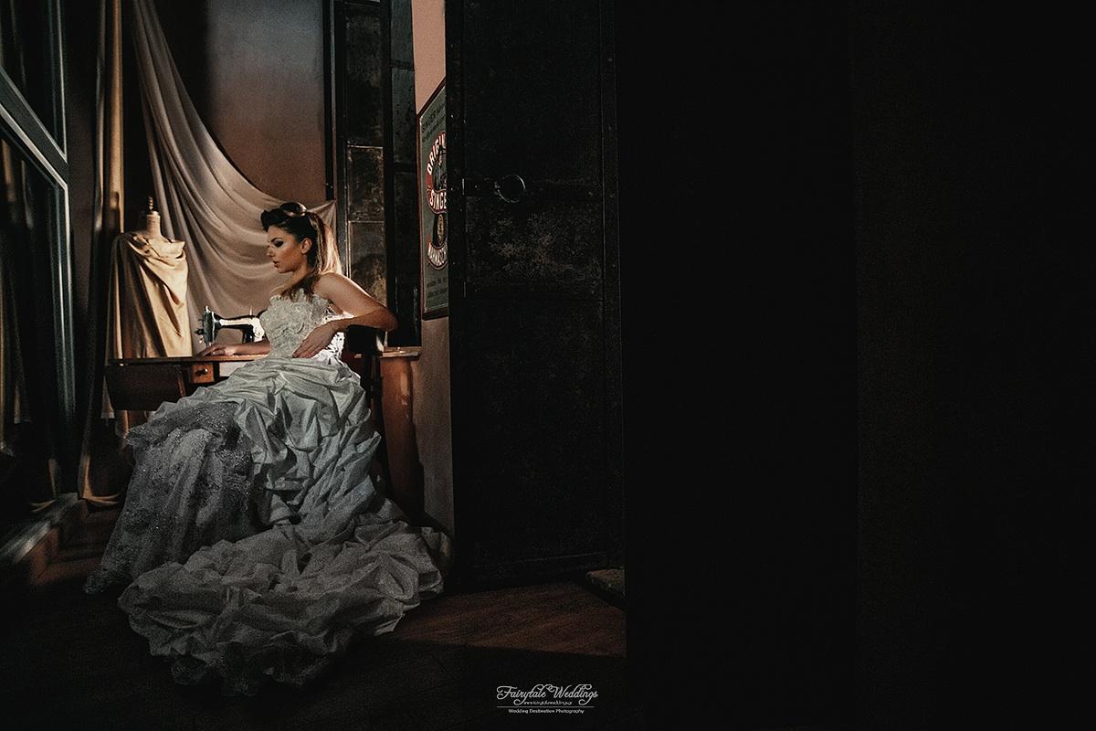 Vintage Bride  by Ordoumpozanis Kostas