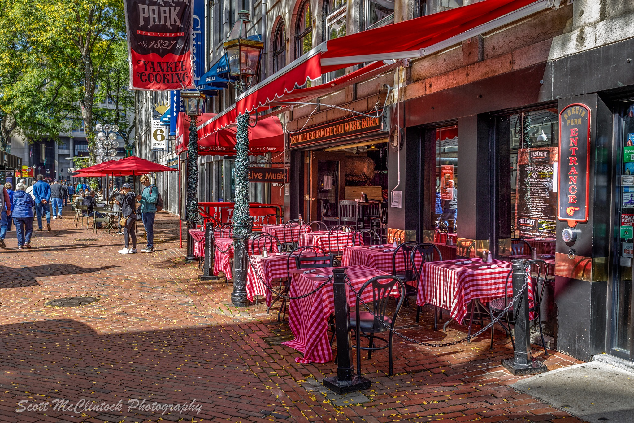 Cafe in Boston by Scottmcc