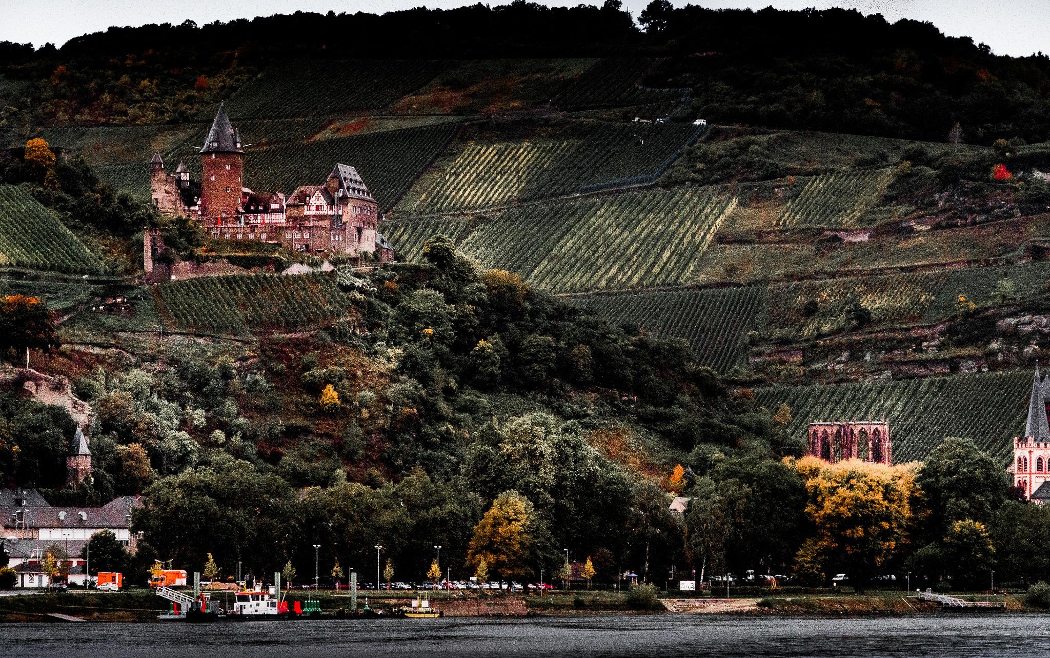 Rhine River by Scottmcc