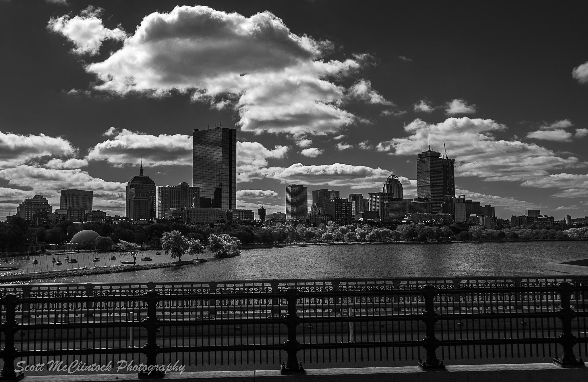 Boston Skyline by Scottmcc