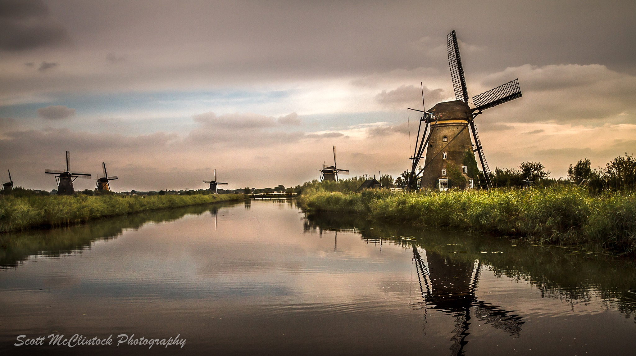 Windmills of Holland by Scottmcc