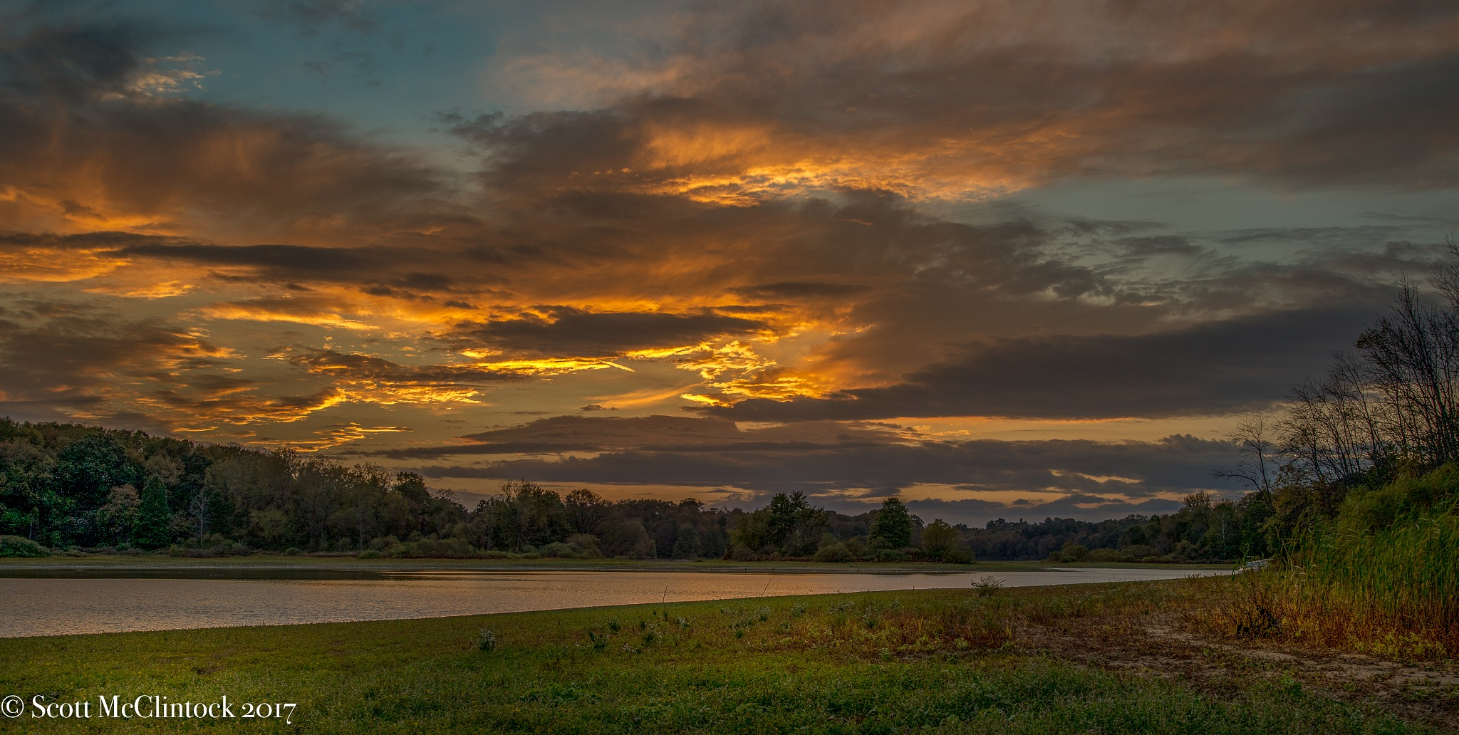Sunset in Ohio by Scottmcc