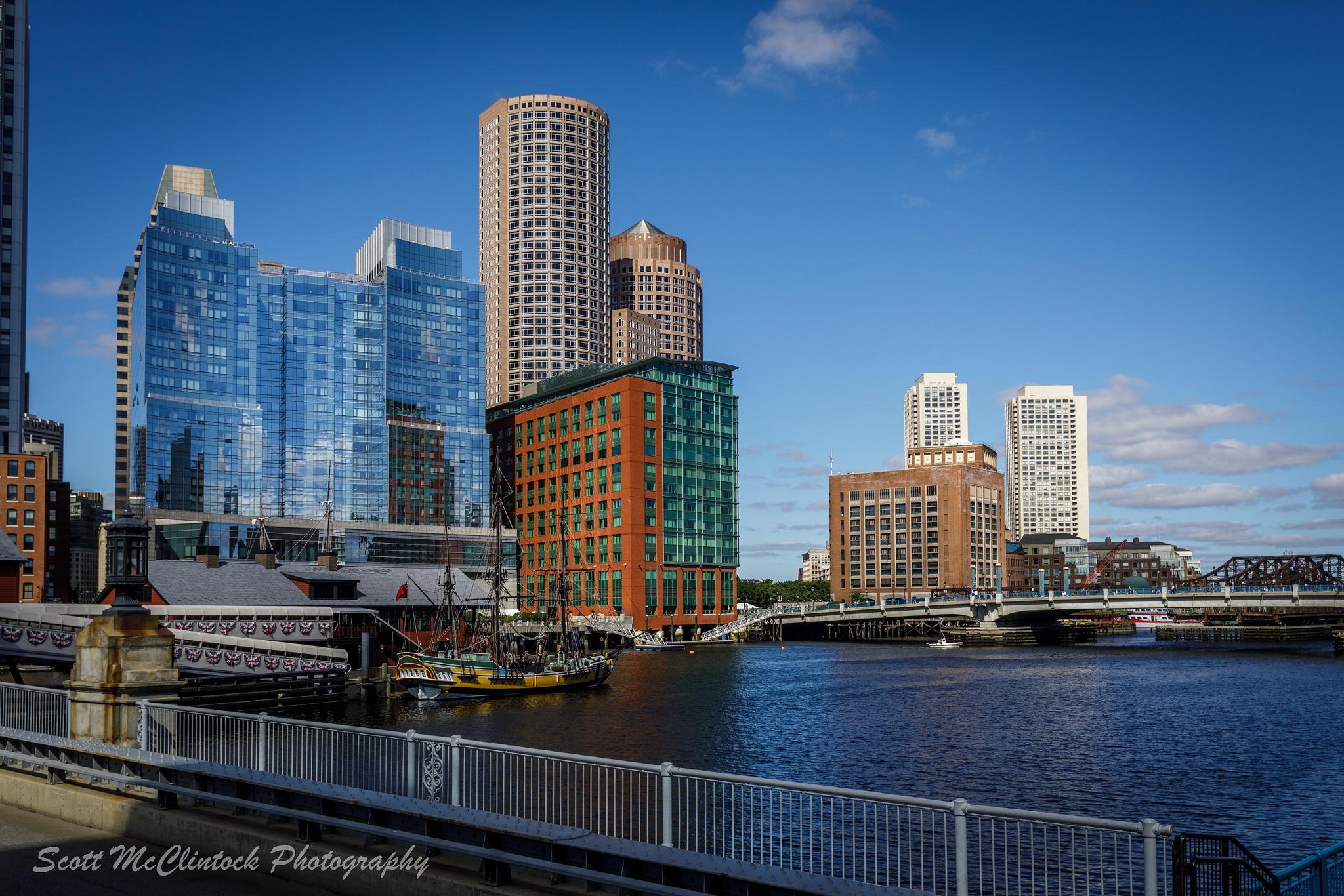 Boston Tea Party - Day View by Scottmcc