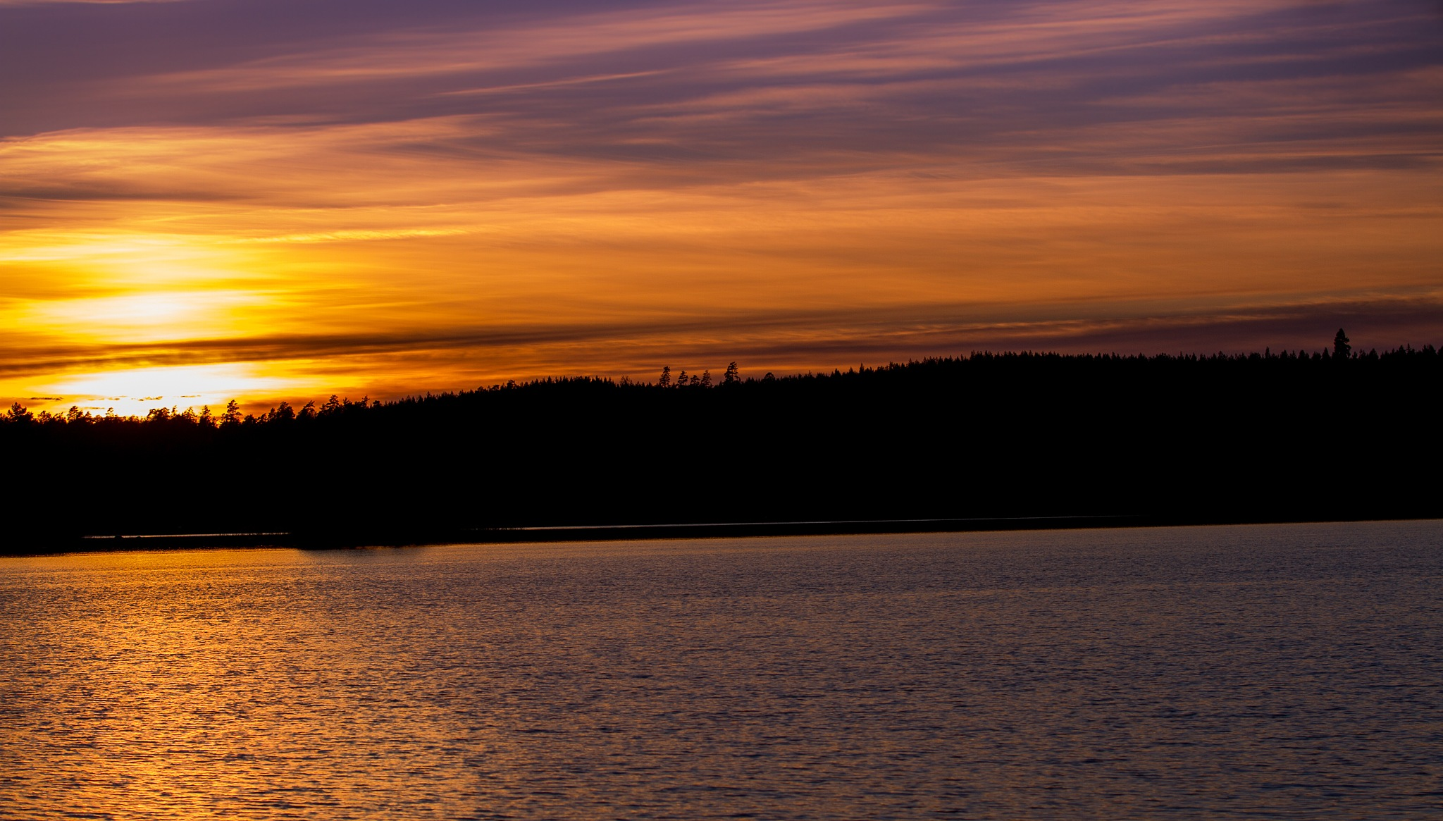 Another Beautiful Sunset in Suomi Finland by Scottmcc