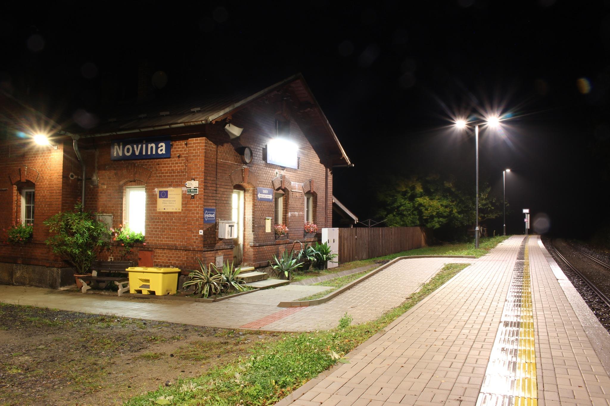 Novina train station by Petr Poláček