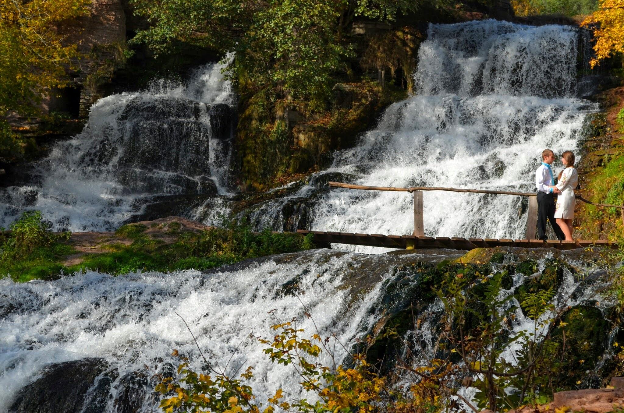 Waterfall by mikhailomikhaylovsky