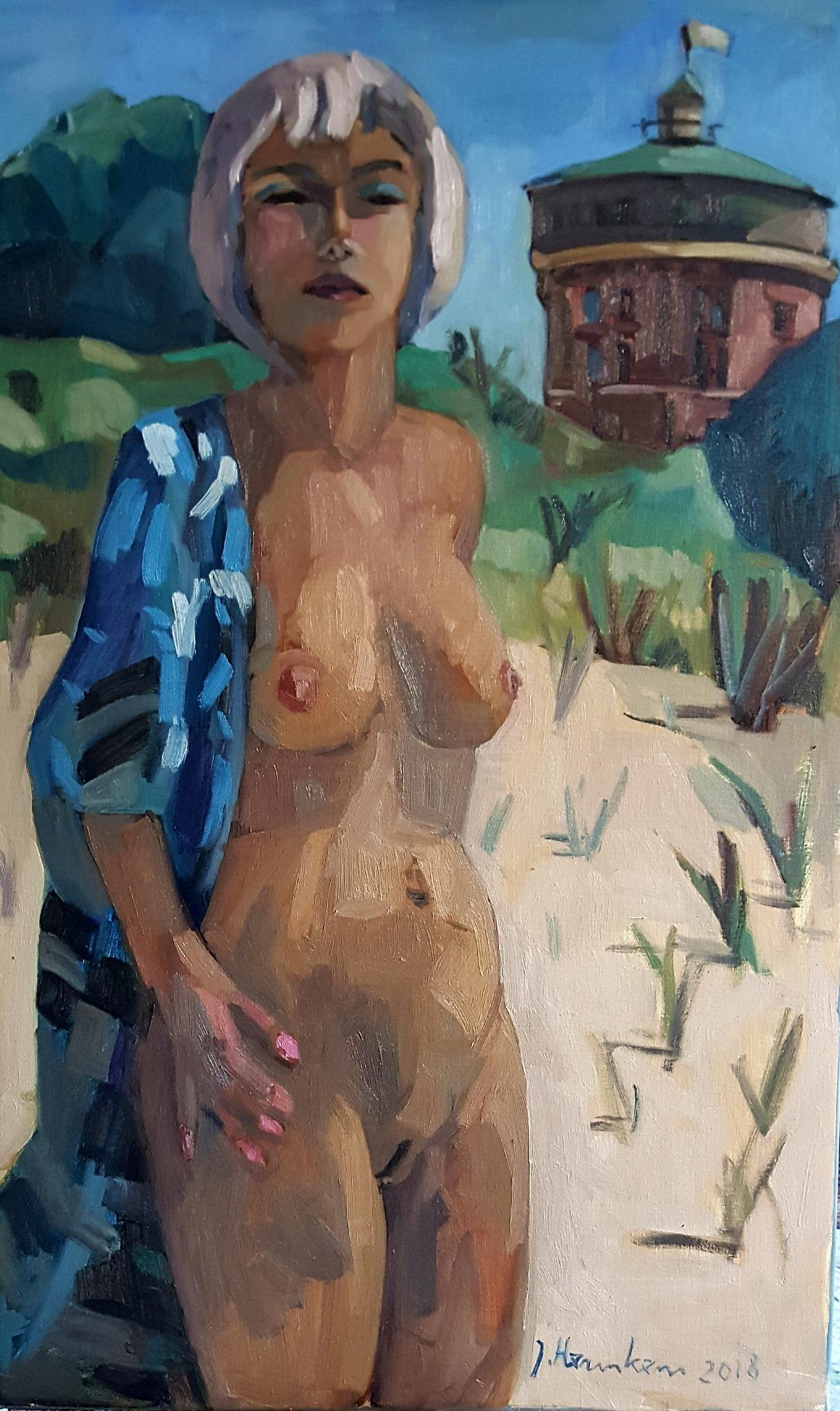 Schilderij  by Marjo van der Plas